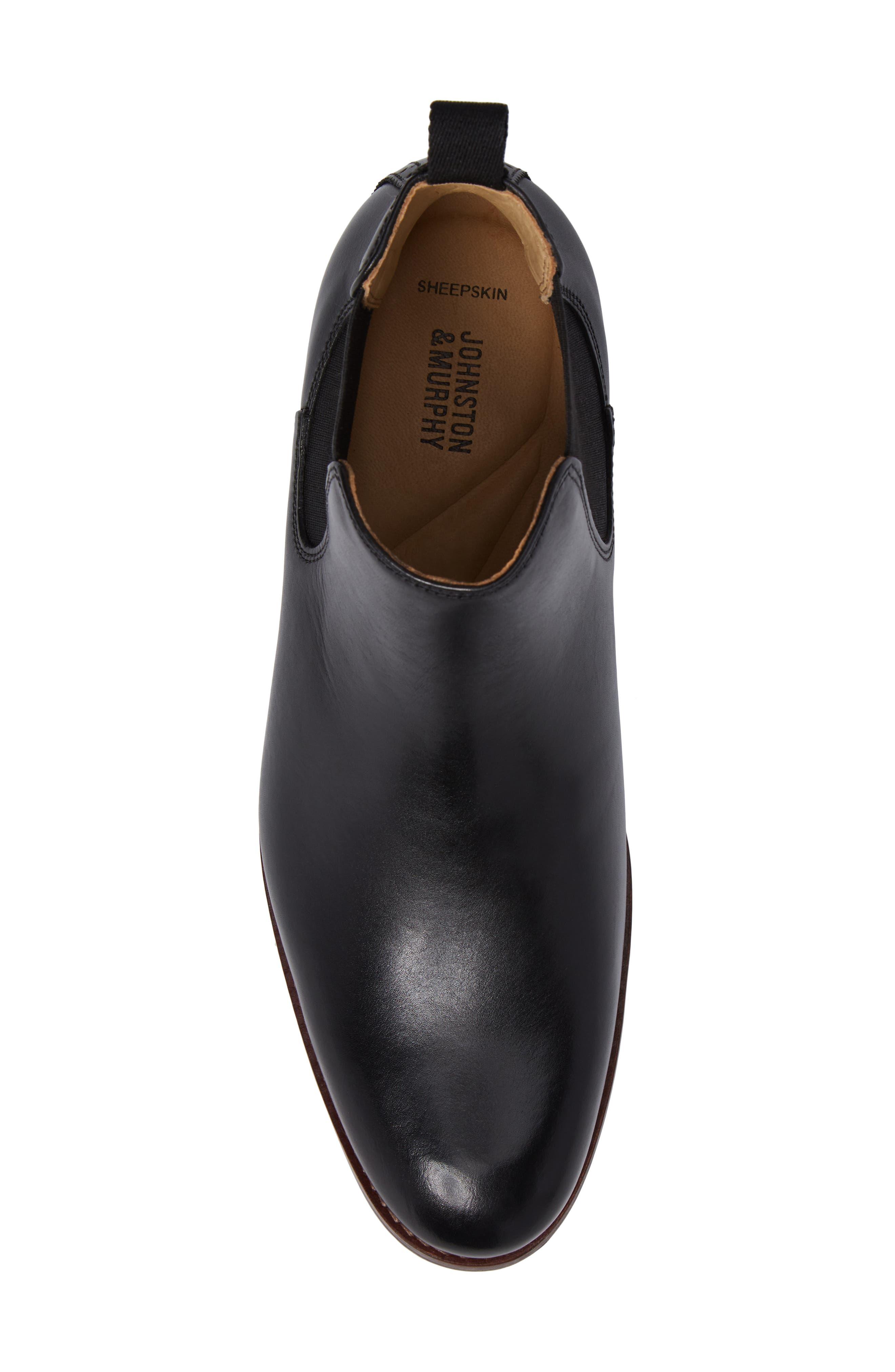 Alternate Image 5  - Johnston & Murphy Garner Chelsea Boot (Men)