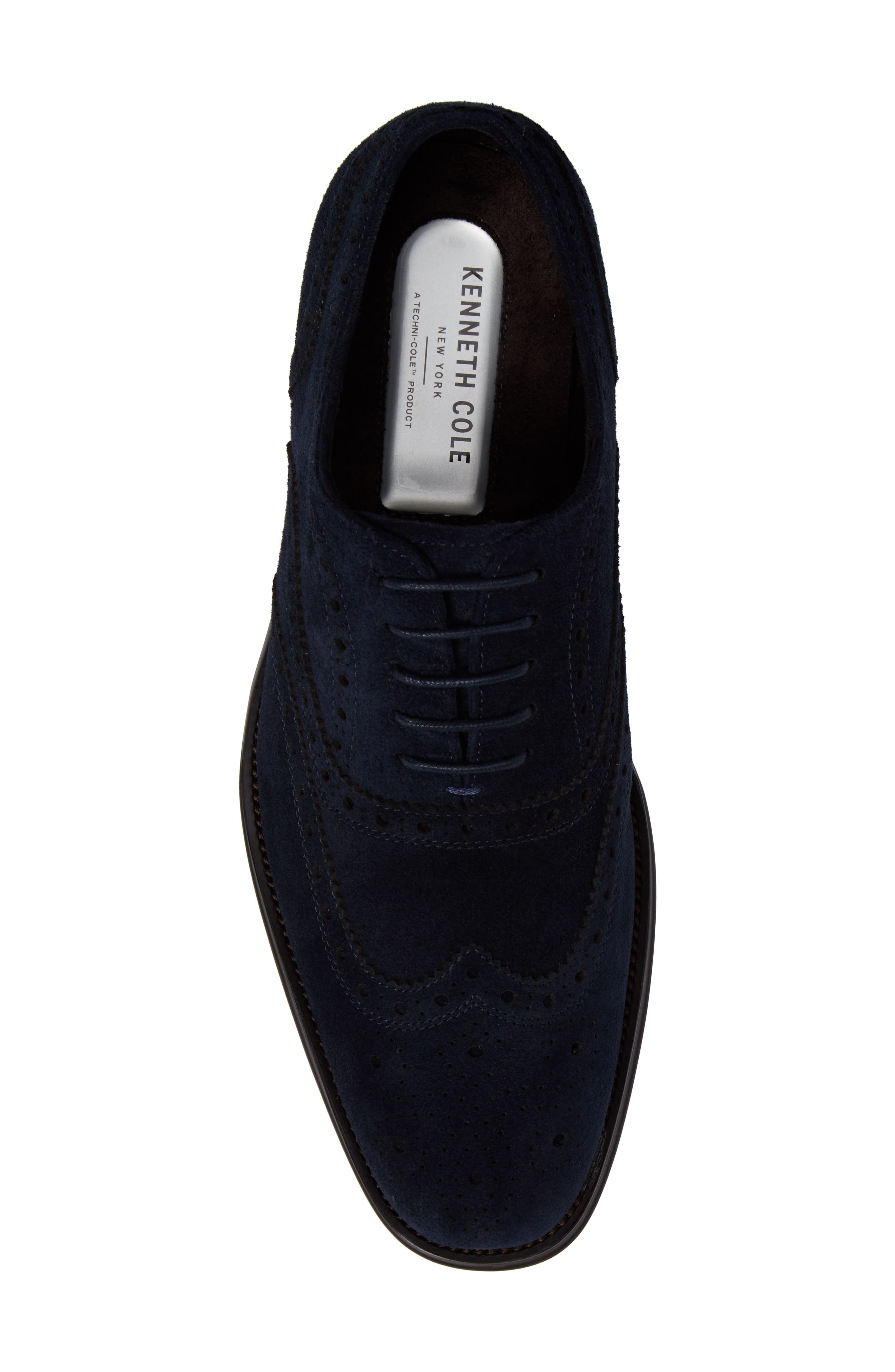 Wingtip,                             Alternate thumbnail 5, color,                             Midnight Navy Leather