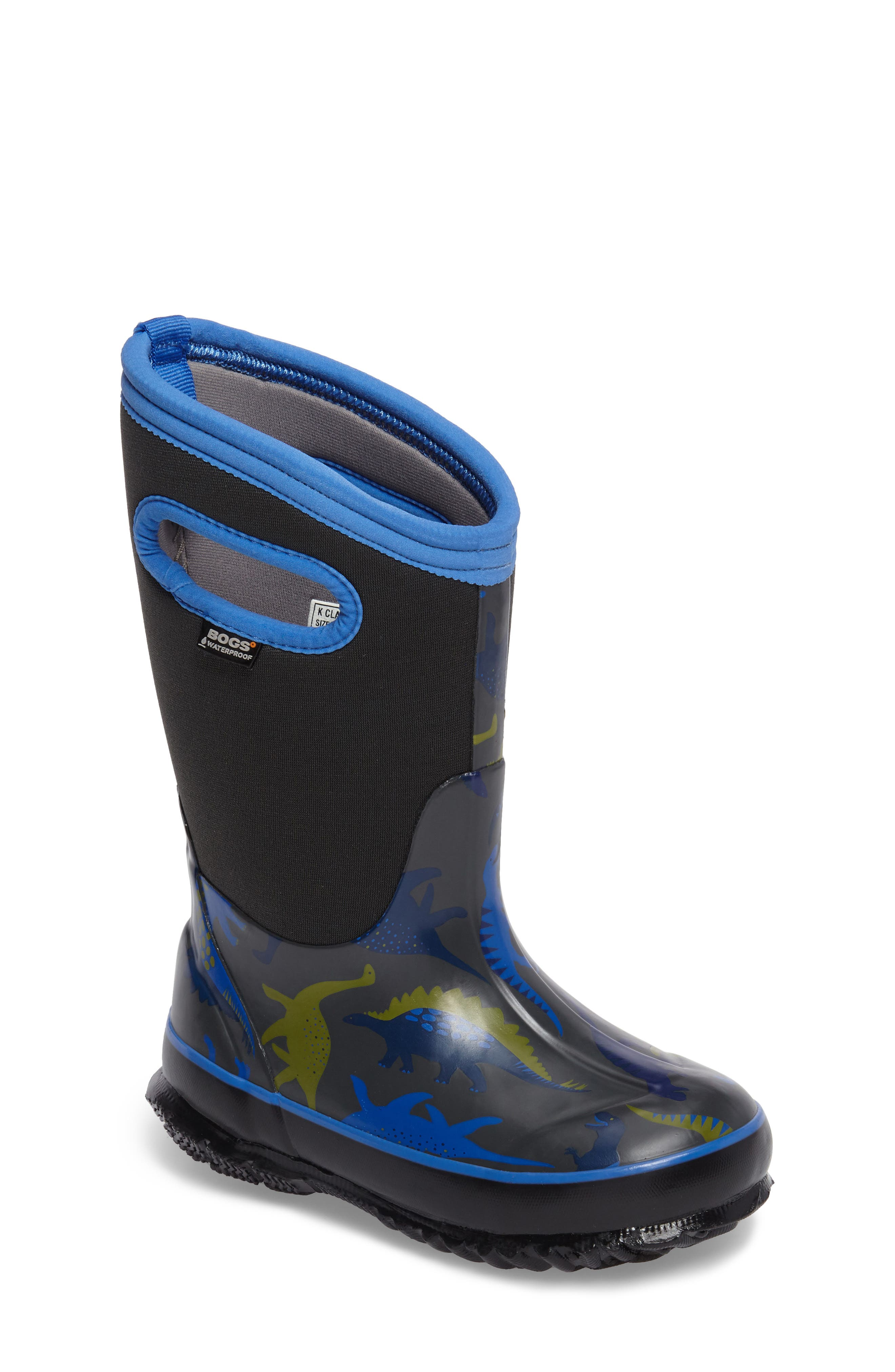 Bogs Classic Dino Insulated Waterproof Boot (Walker, Toddler, Little Kid & Big Kid)