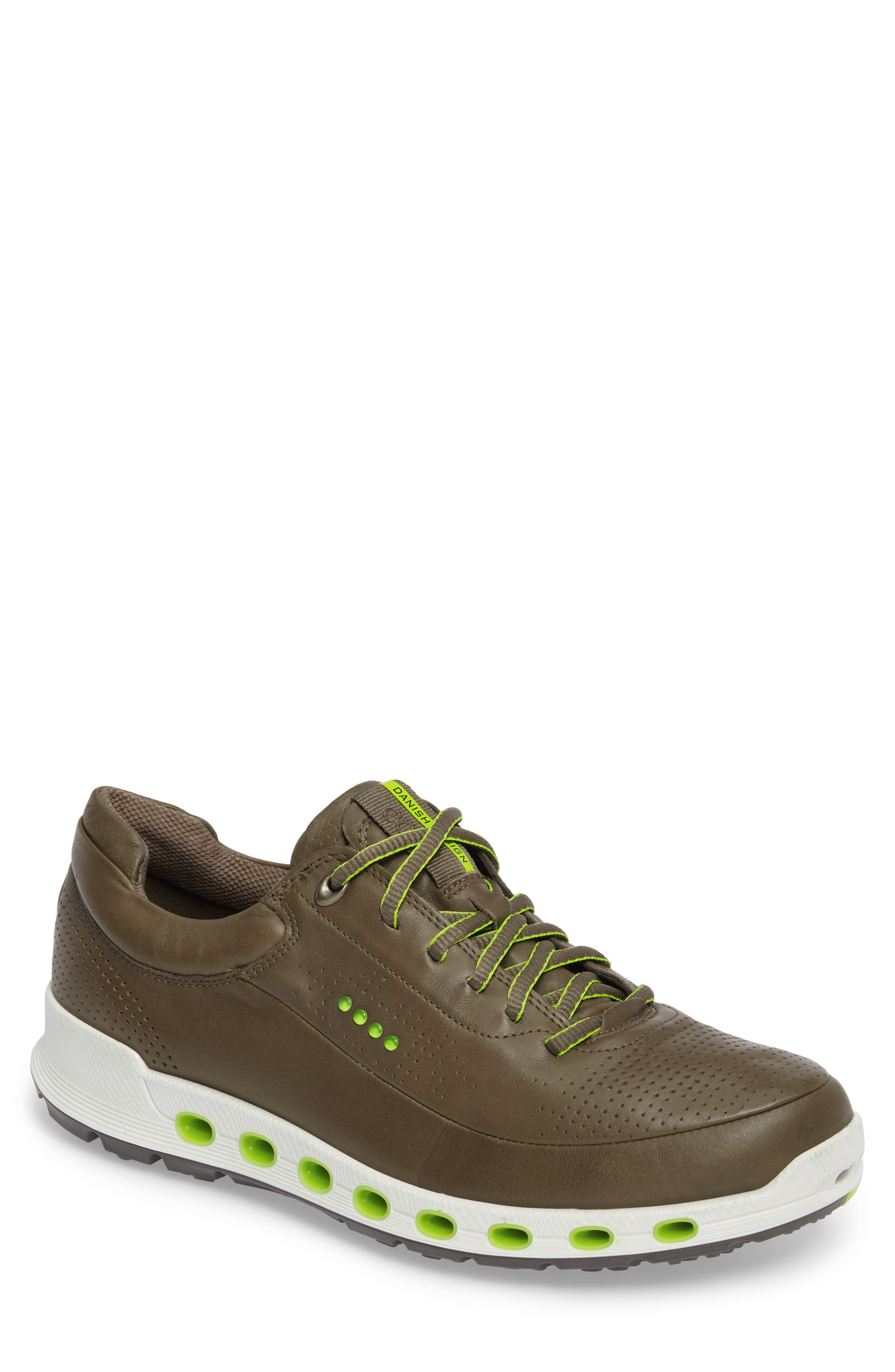 Cool 2.0 Leather GTX Sneaker,                             Main thumbnail 1, color,                             Tarmac Leather