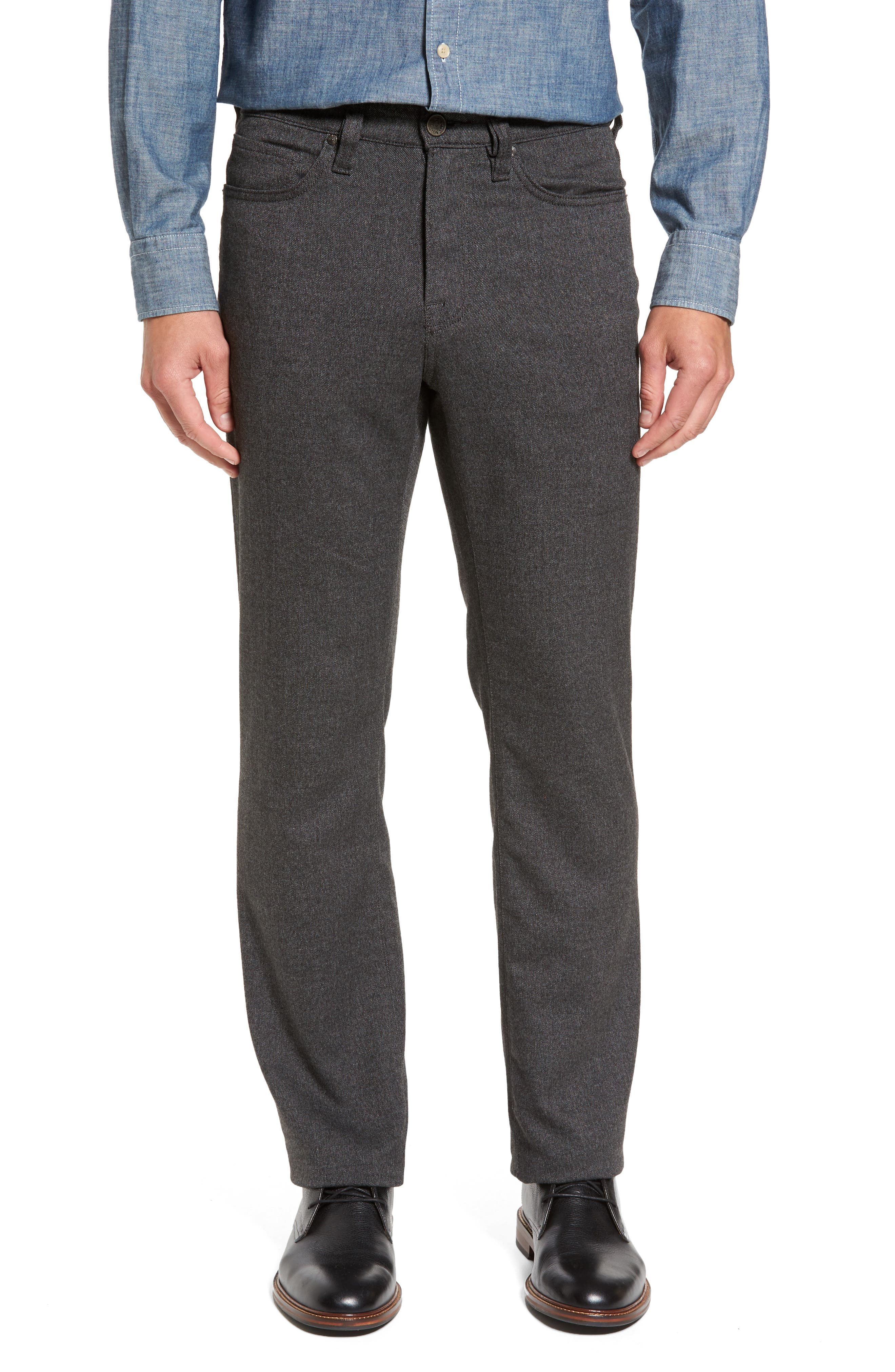 34 Heritage Charisma Relaxed Fit Jeans (Grey Feather Tweed)