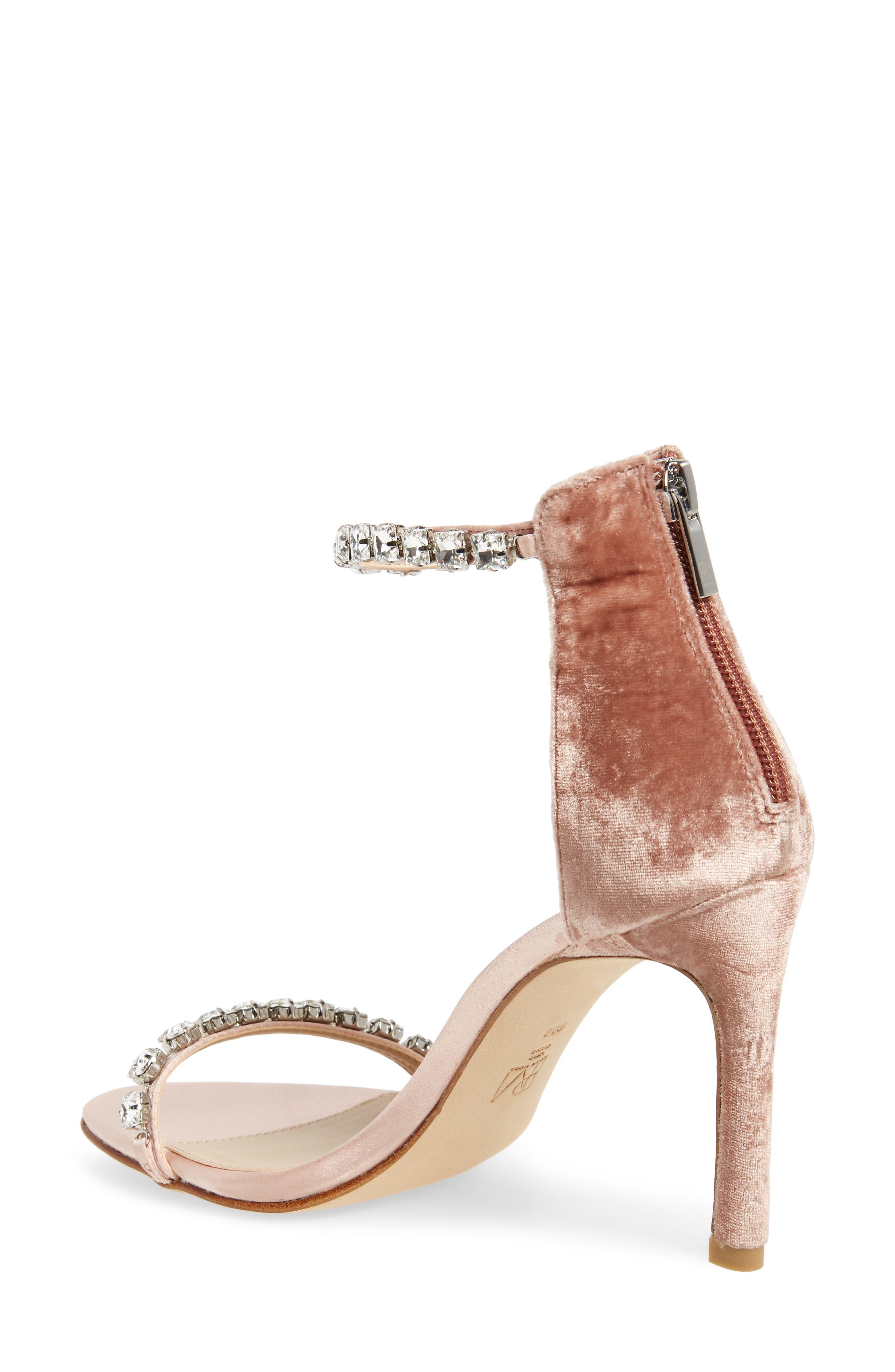 Frisk Embellished Sandal,                             Alternate thumbnail 2, color,                             Blush