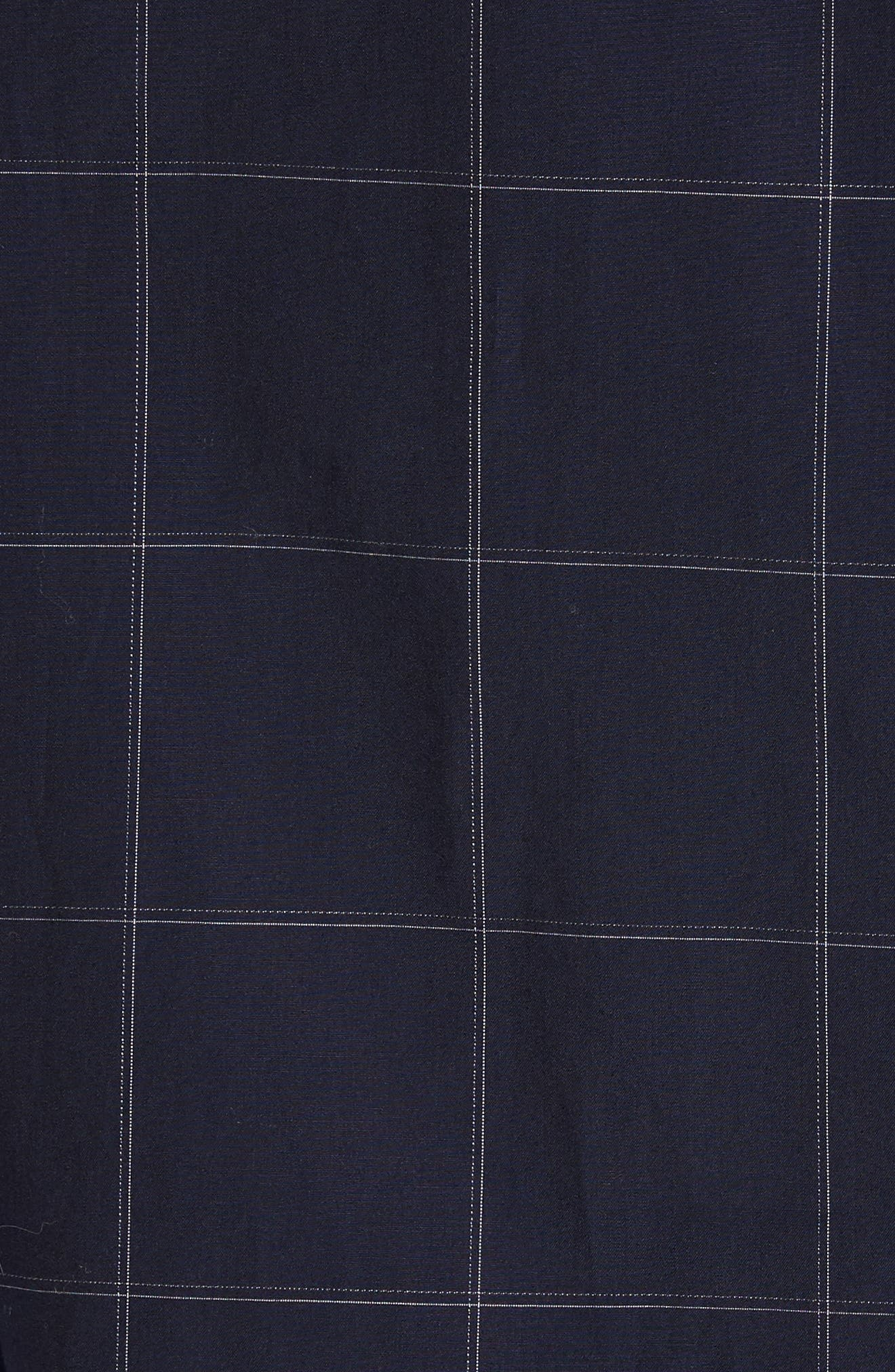 Alternate Image 5  - Theory Grid Woven Sport Shirt