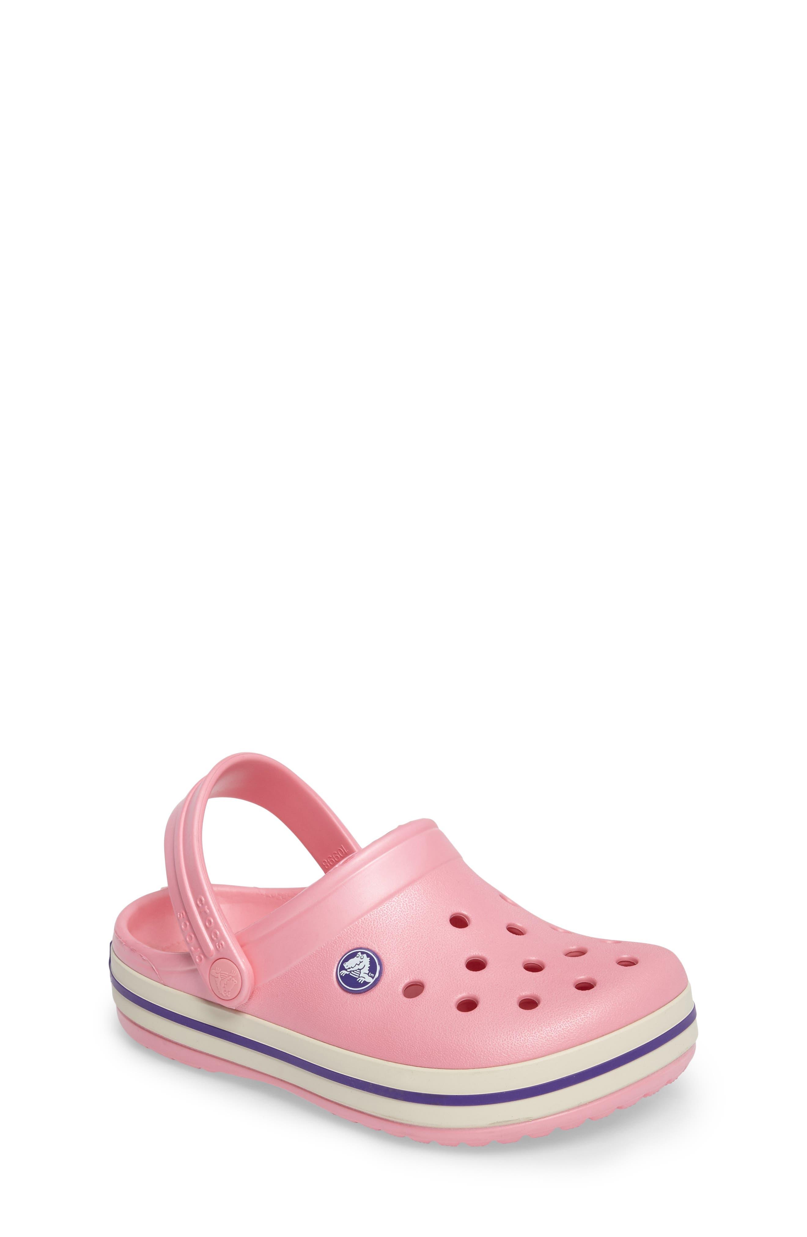 CROCS™ Crocband Clog (Baby, Walker, Toddler & Little Kid)