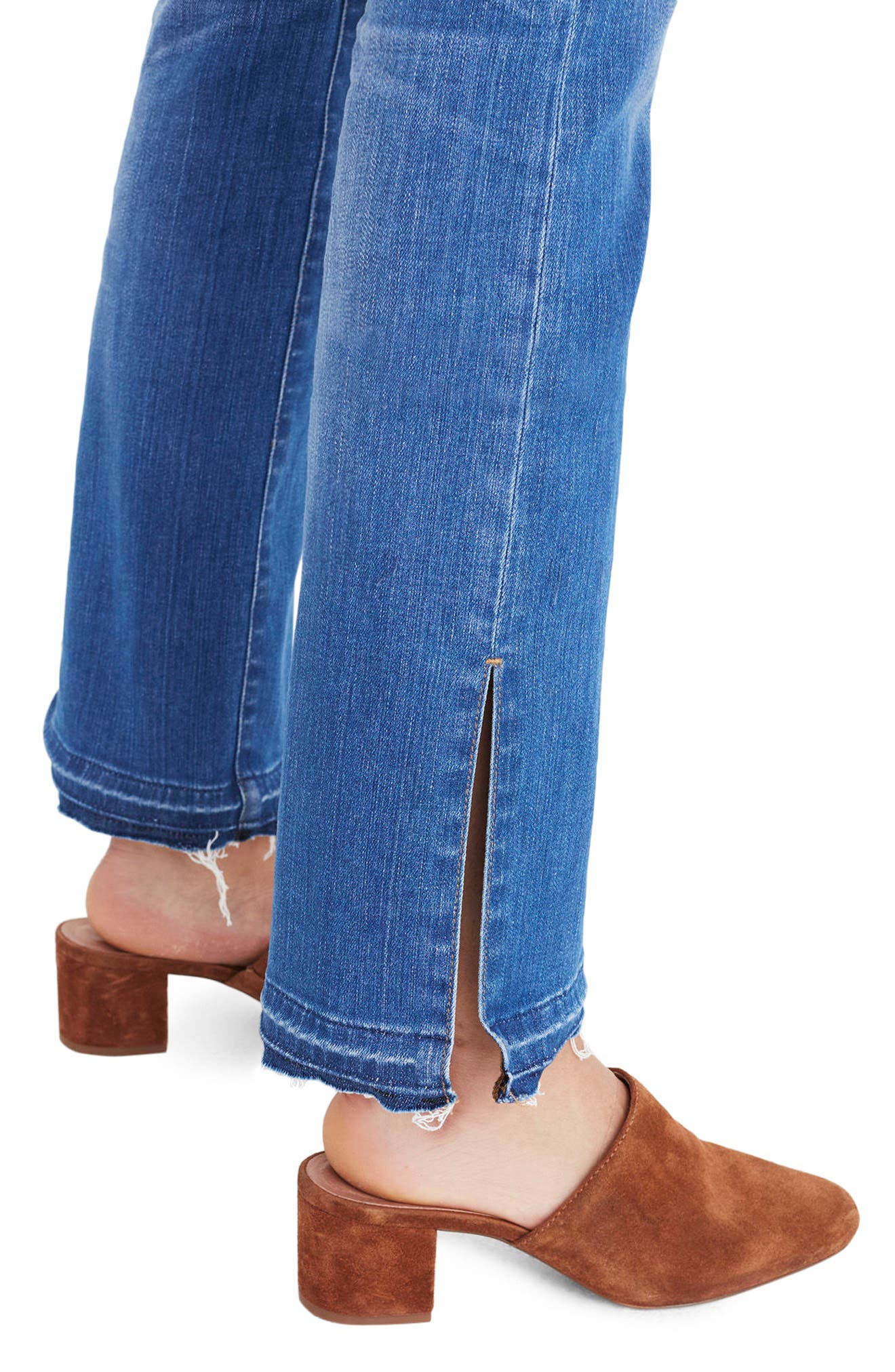 Alternate Image 4  - Madewell Cali Split Hem Demi Boot Jeans (Joan Wash)