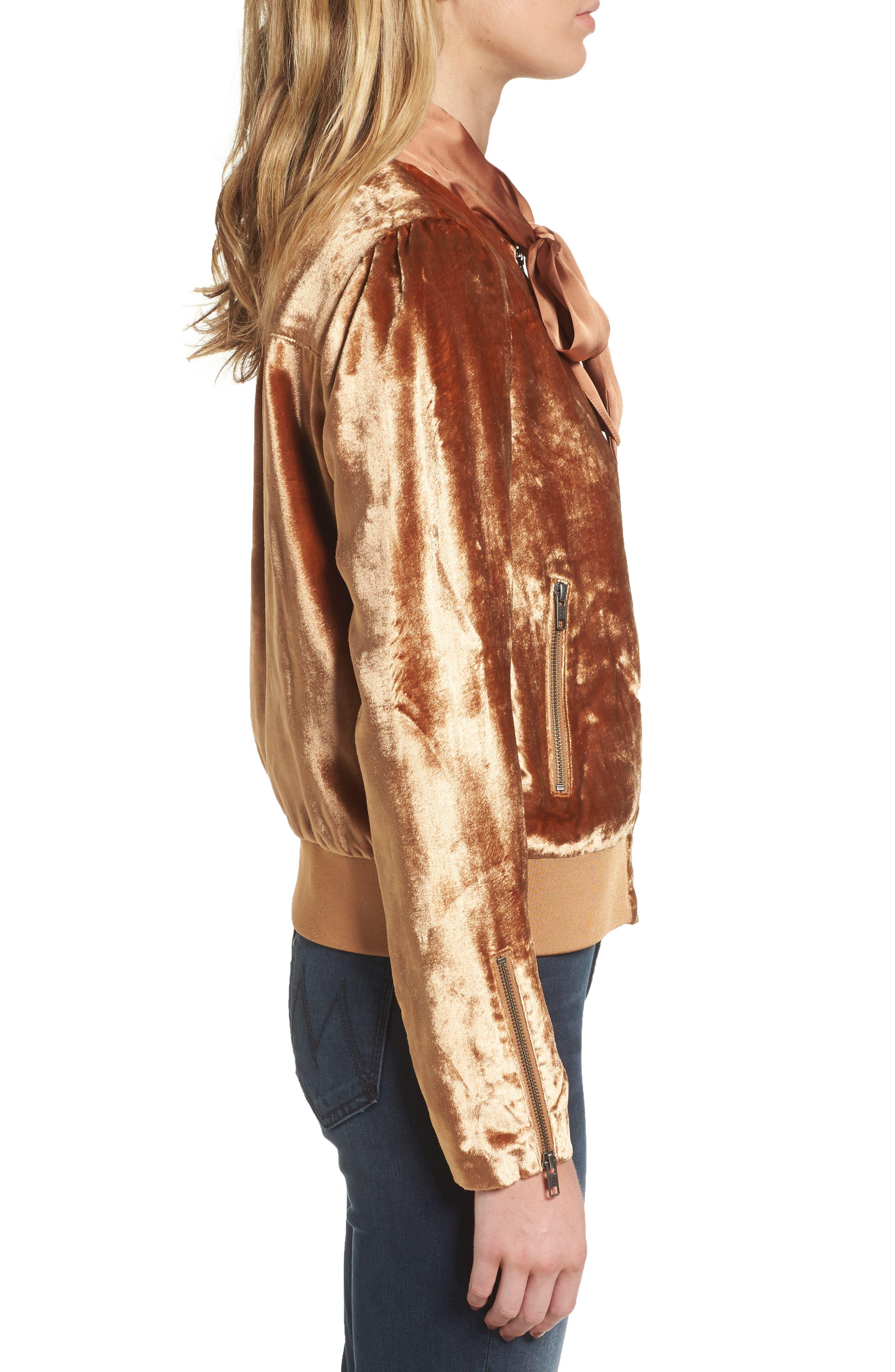 Alternate Image 3  - Chelsea28 Velvet Jacket