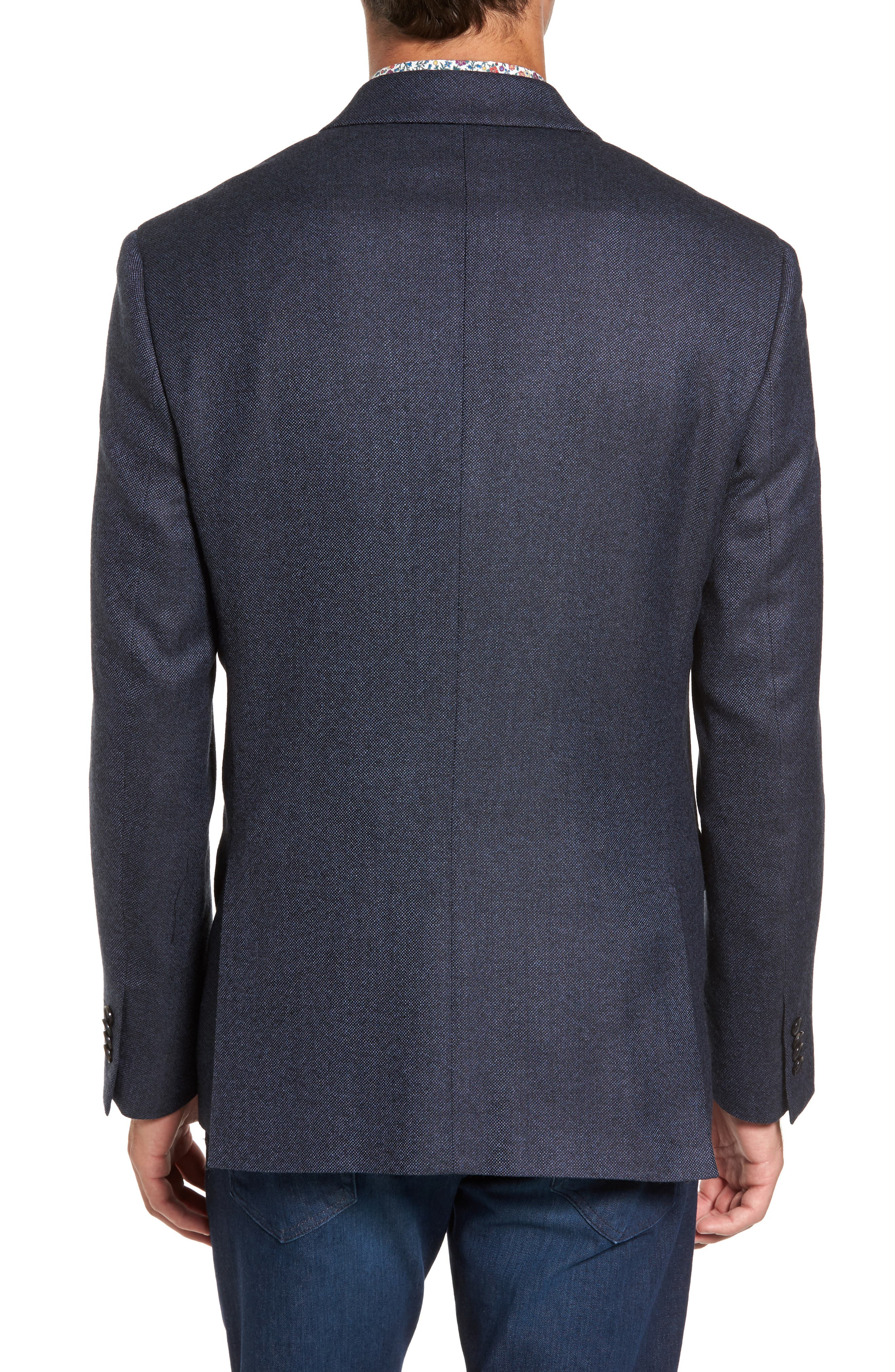 Slingsby Virgin Wool Sport Coat,                             Alternate thumbnail 2, color,                             Twilight