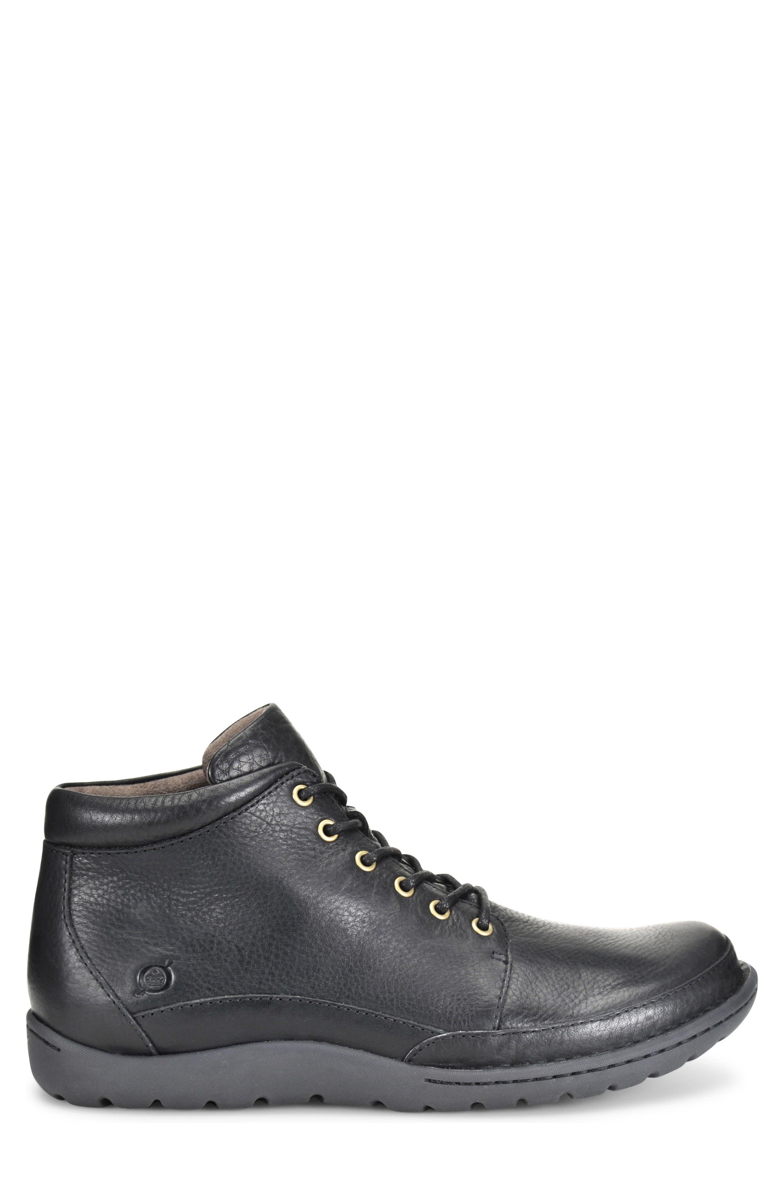 Nigel Low Boot,                             Alternate thumbnail 3, color,                             Black