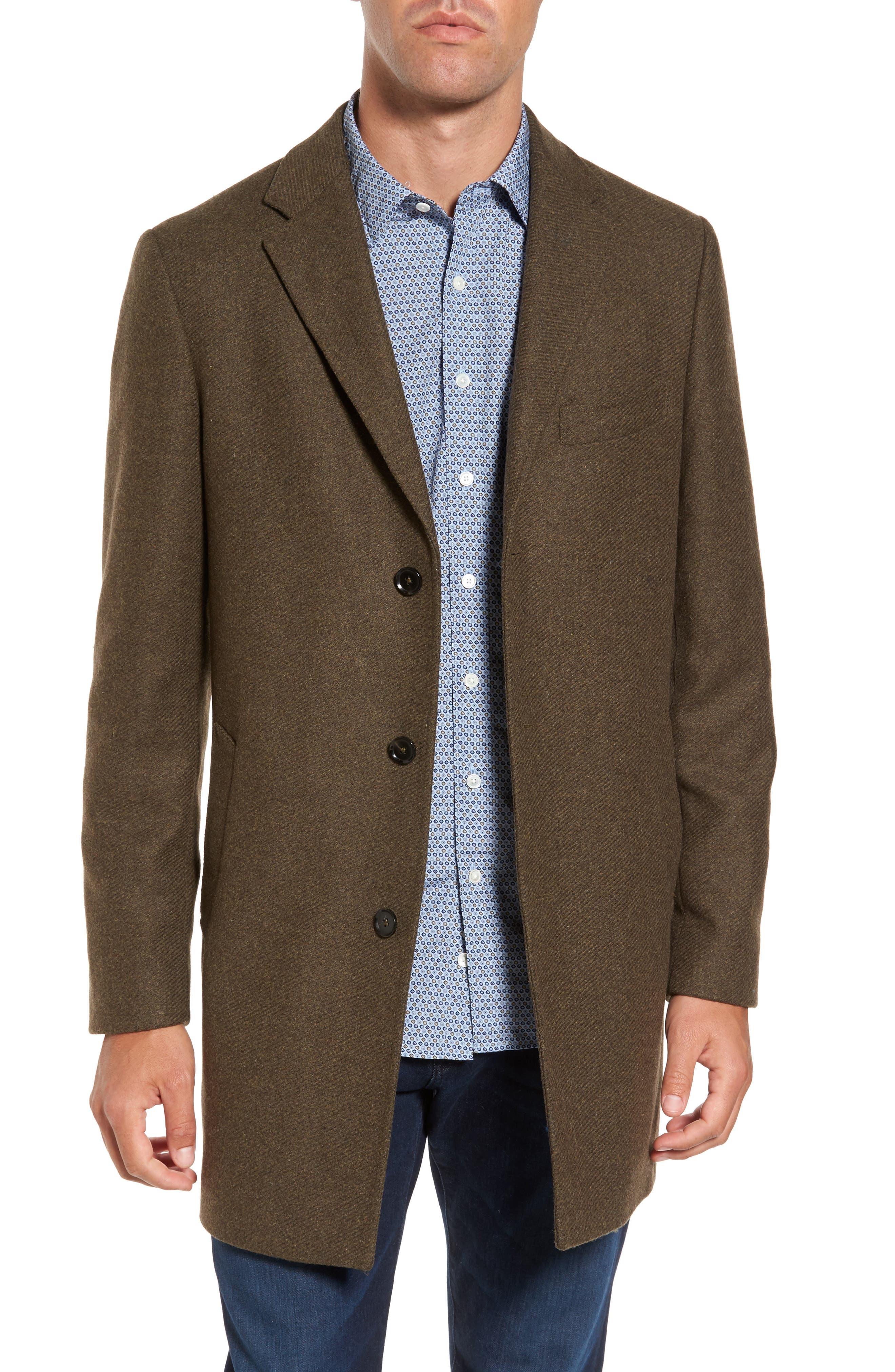 Rodd & Gunn Stirling Point Wool Blend Coat