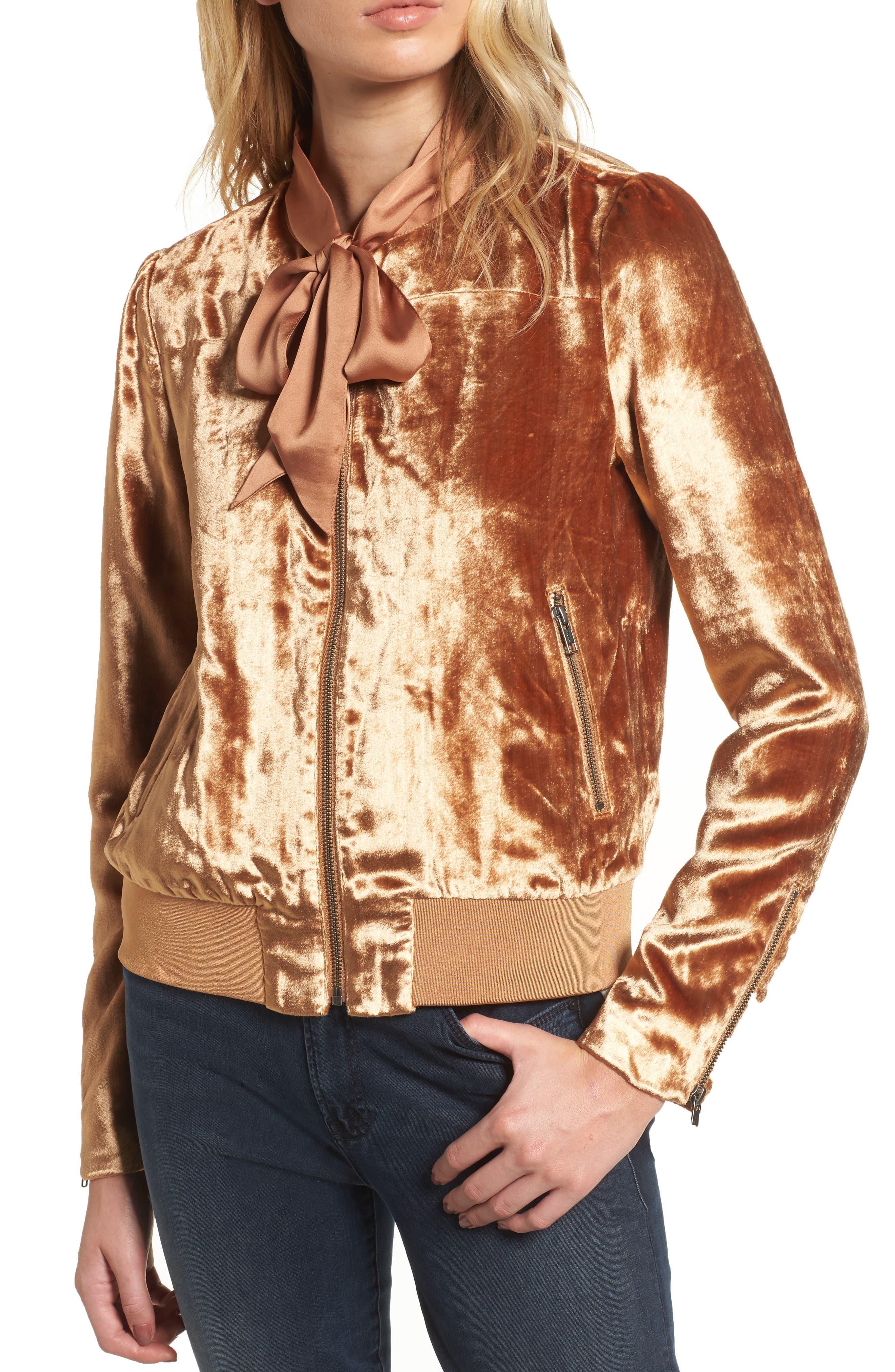 Alternate Image 4  - Chelsea28 Velvet Jacket