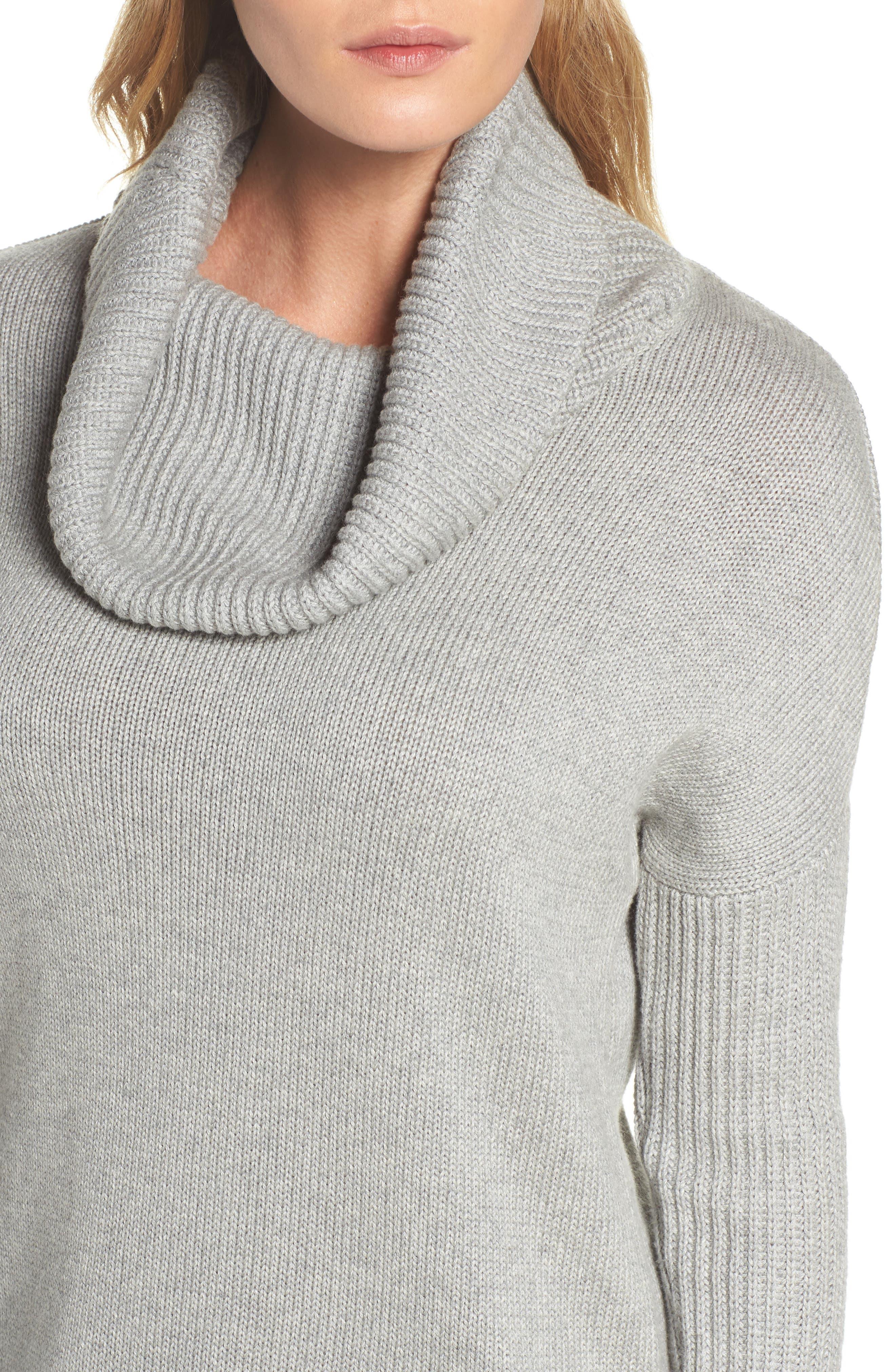 Alternate Image 5  - UGG® Cowl Neck Tunic Sweater