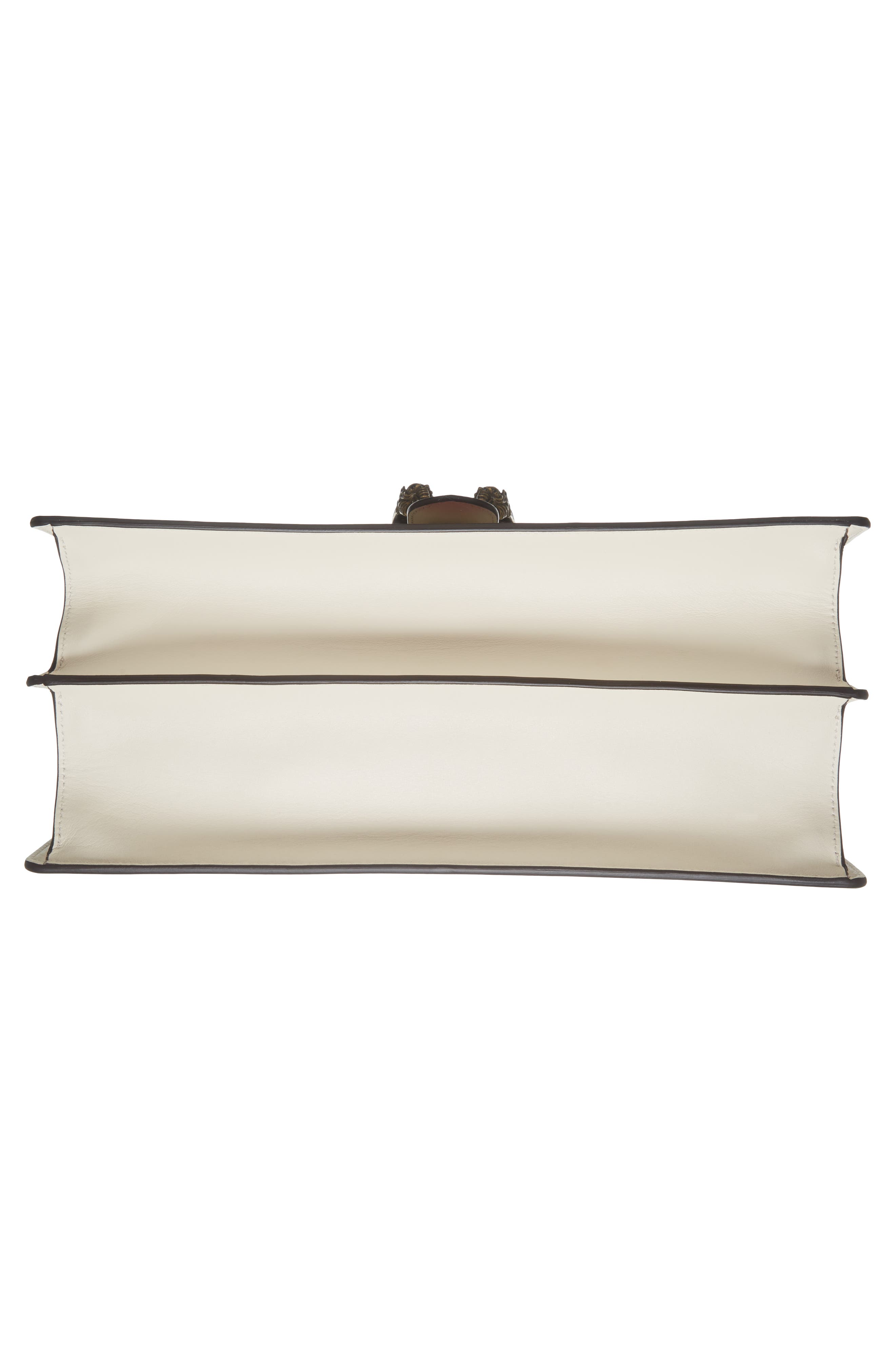 Large Dionysus Top Handle Leather Shoulder Bag,                             Alternate thumbnail 6, color,                             Mystic White/ Blue/ Red