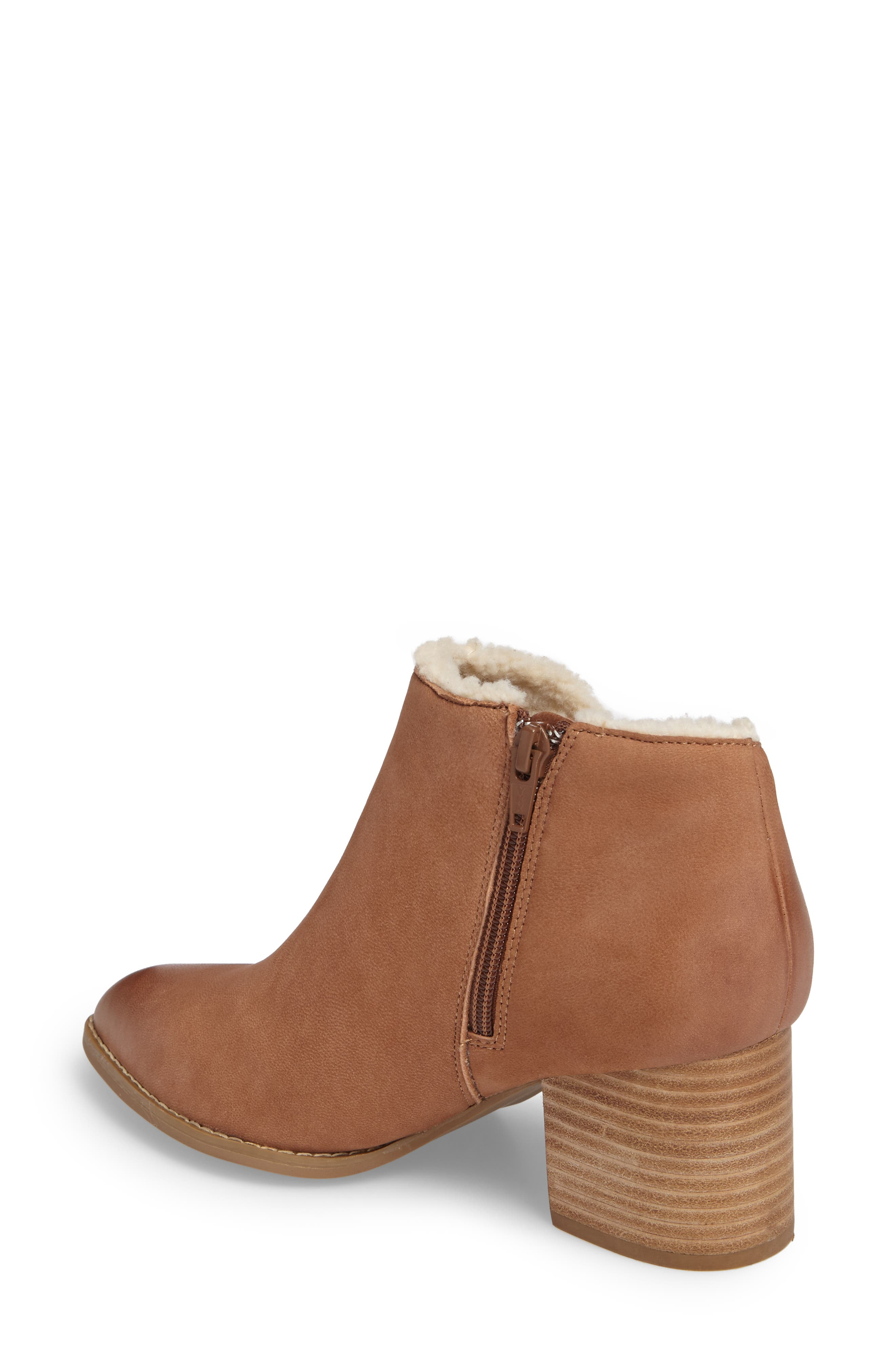 Alternate Image 2  - Seychelles Preview Faux Fur Lined Bootie (Women)