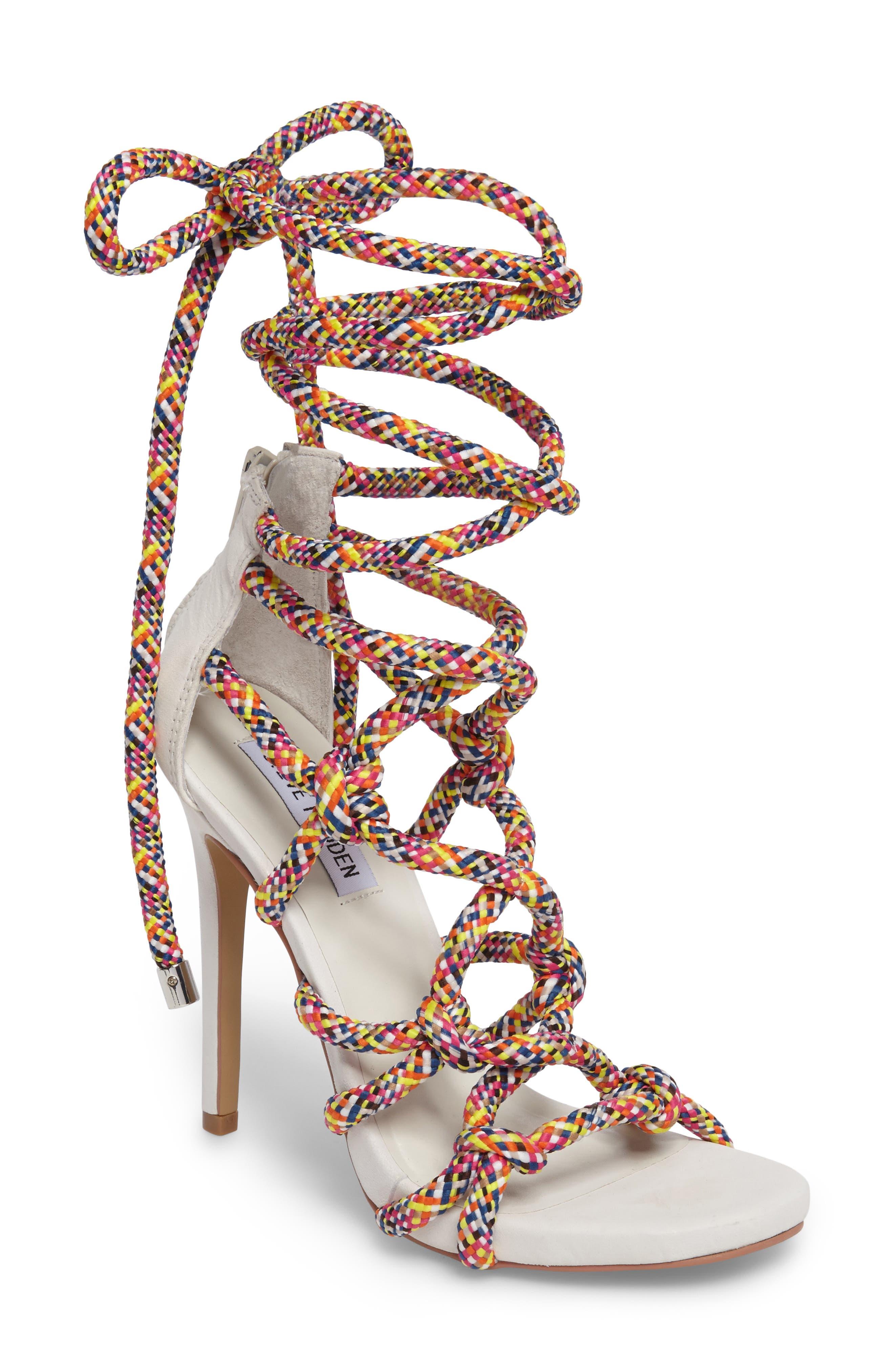Steve Madden Dream Ankle Tie Sandal (Women)