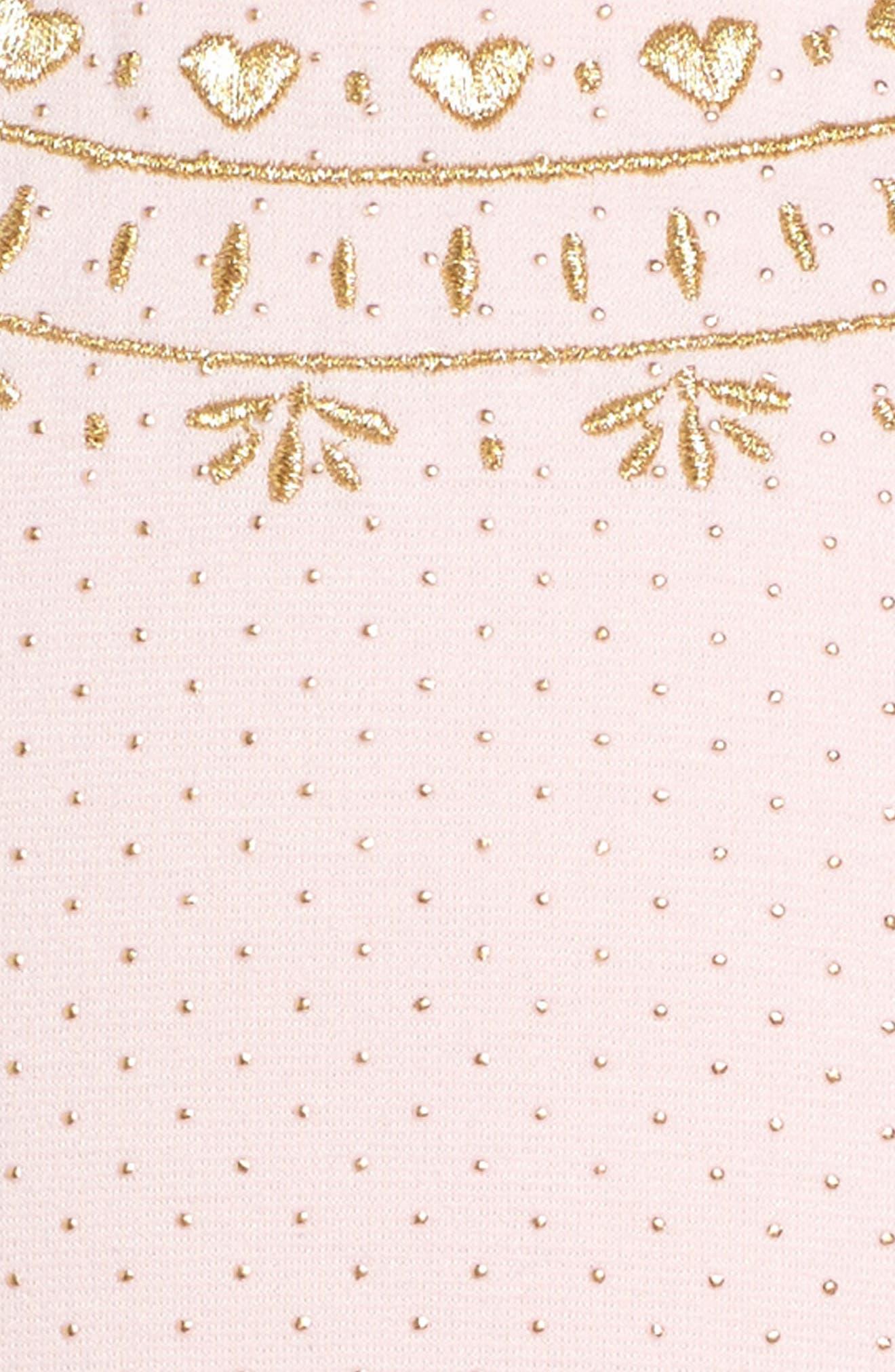 Alternate Image 3  - Little Angels Princess Drop Waist Dress (Toddler Girls & Little Girls)
