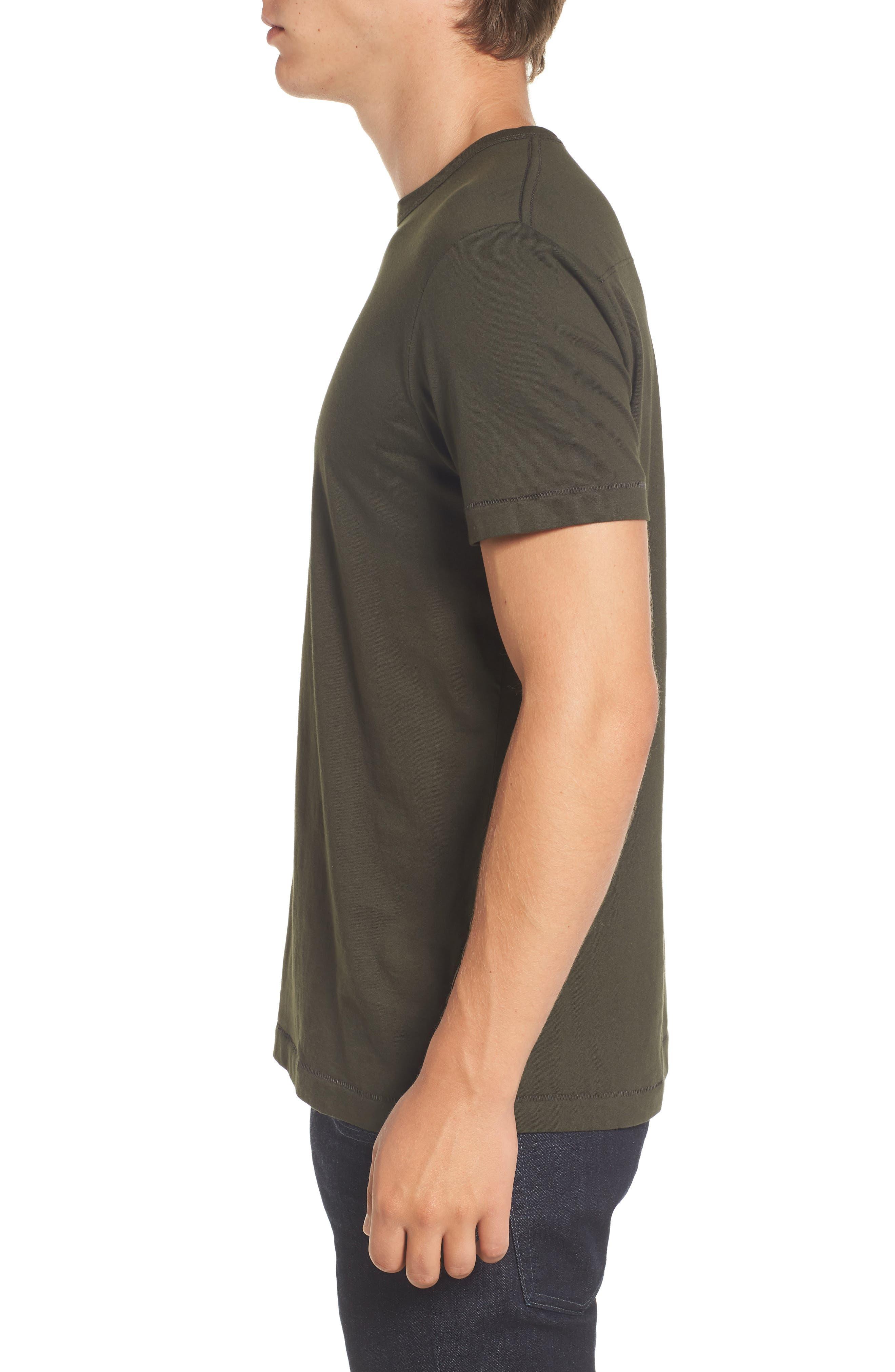 Alternate Image 3  - French Connection Slim Fit Crewneck T-Shirt