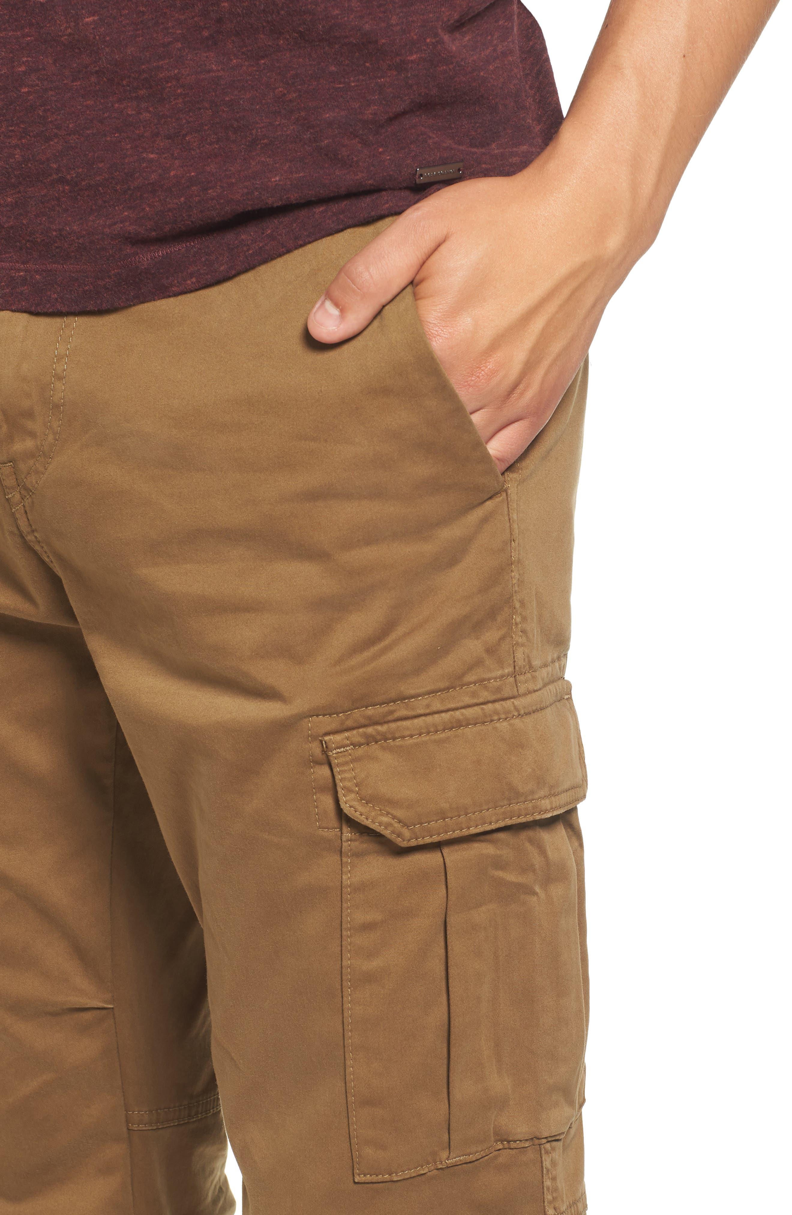 Shay 2 Cargo Pants,                             Alternate thumbnail 4, color,                             Open Beige
