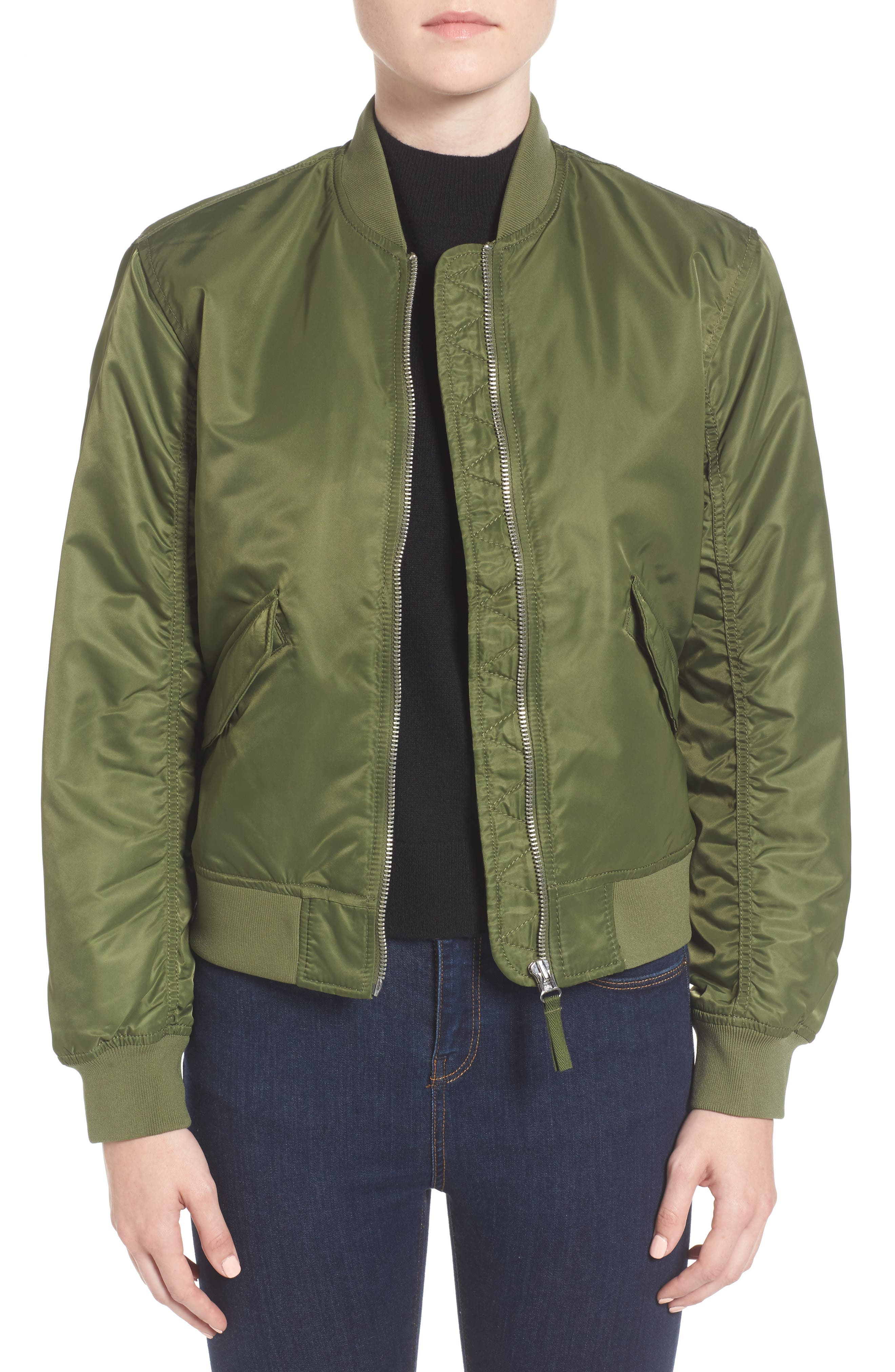 Everlane Filled Nylon Bomber Jacket | Nordstrom