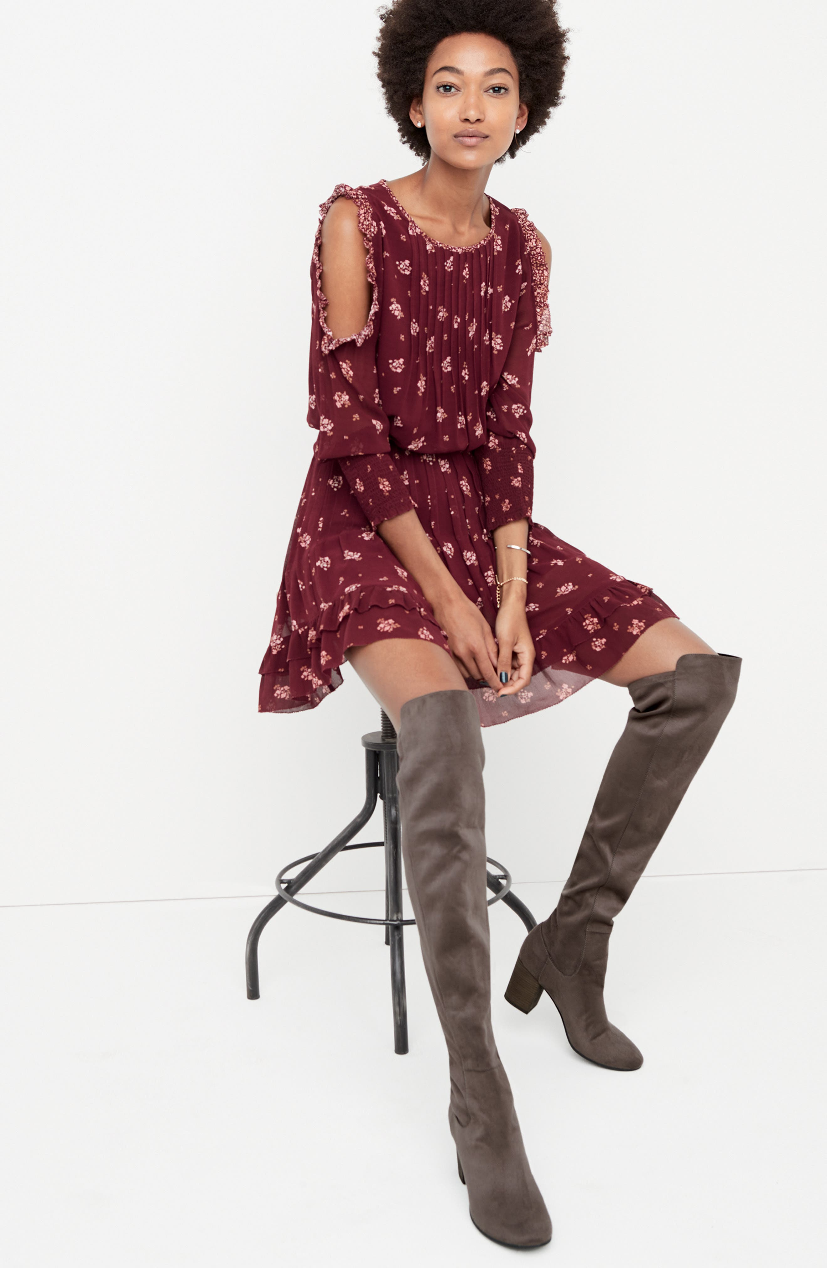 Lynx Stretch Over the Knee Boot,                             Alternate thumbnail 7, color,