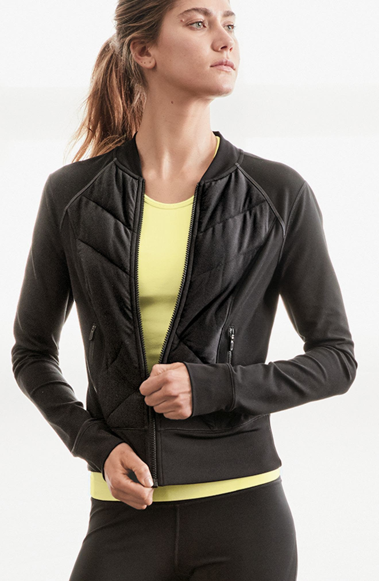 Wear It Out Bomber Jacket,                             Alternate thumbnail 2, color,