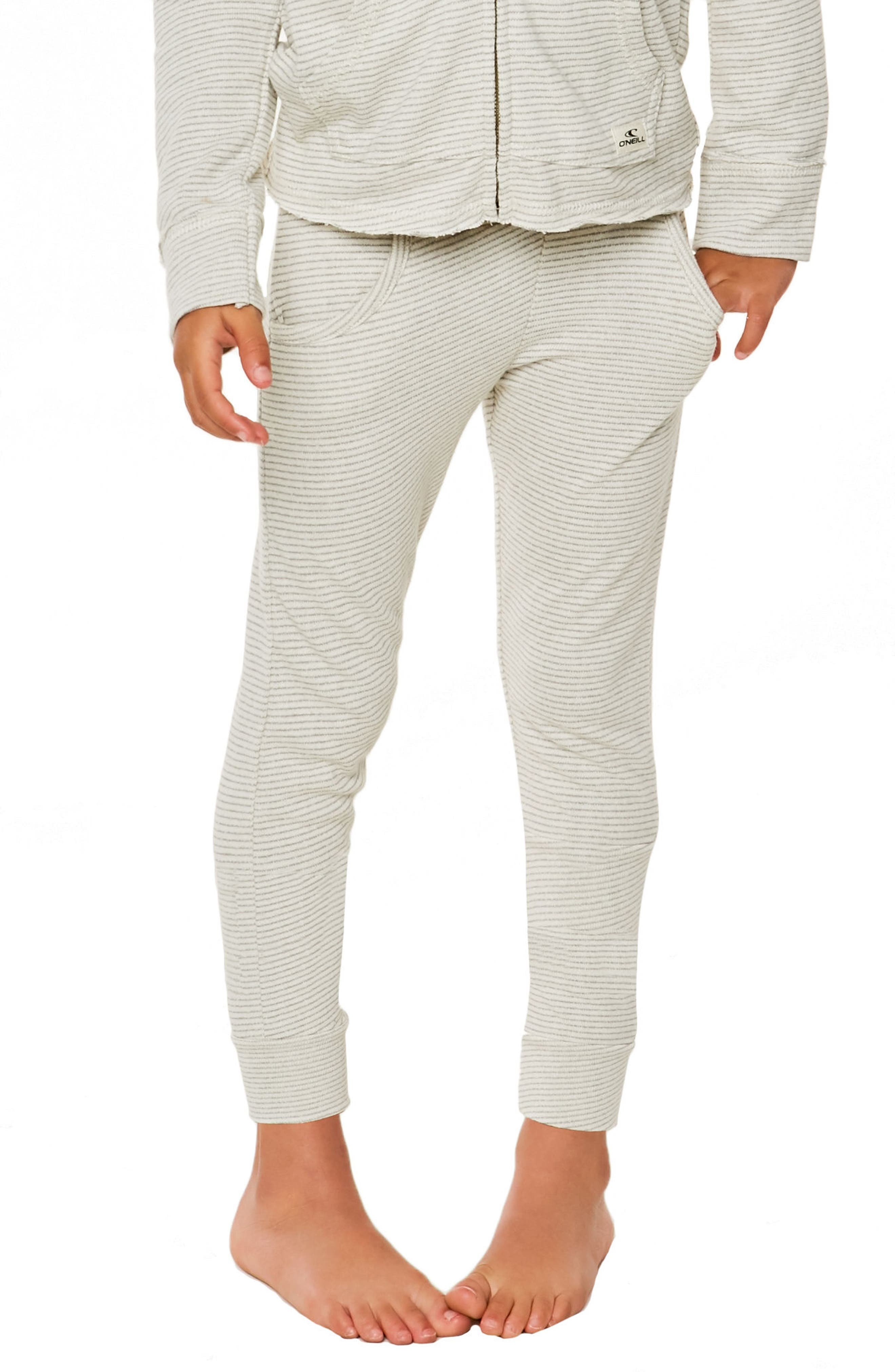 Shore Ahoy! French Terry Pants,                             Alternate thumbnail 4, color,                             Grey - Gry