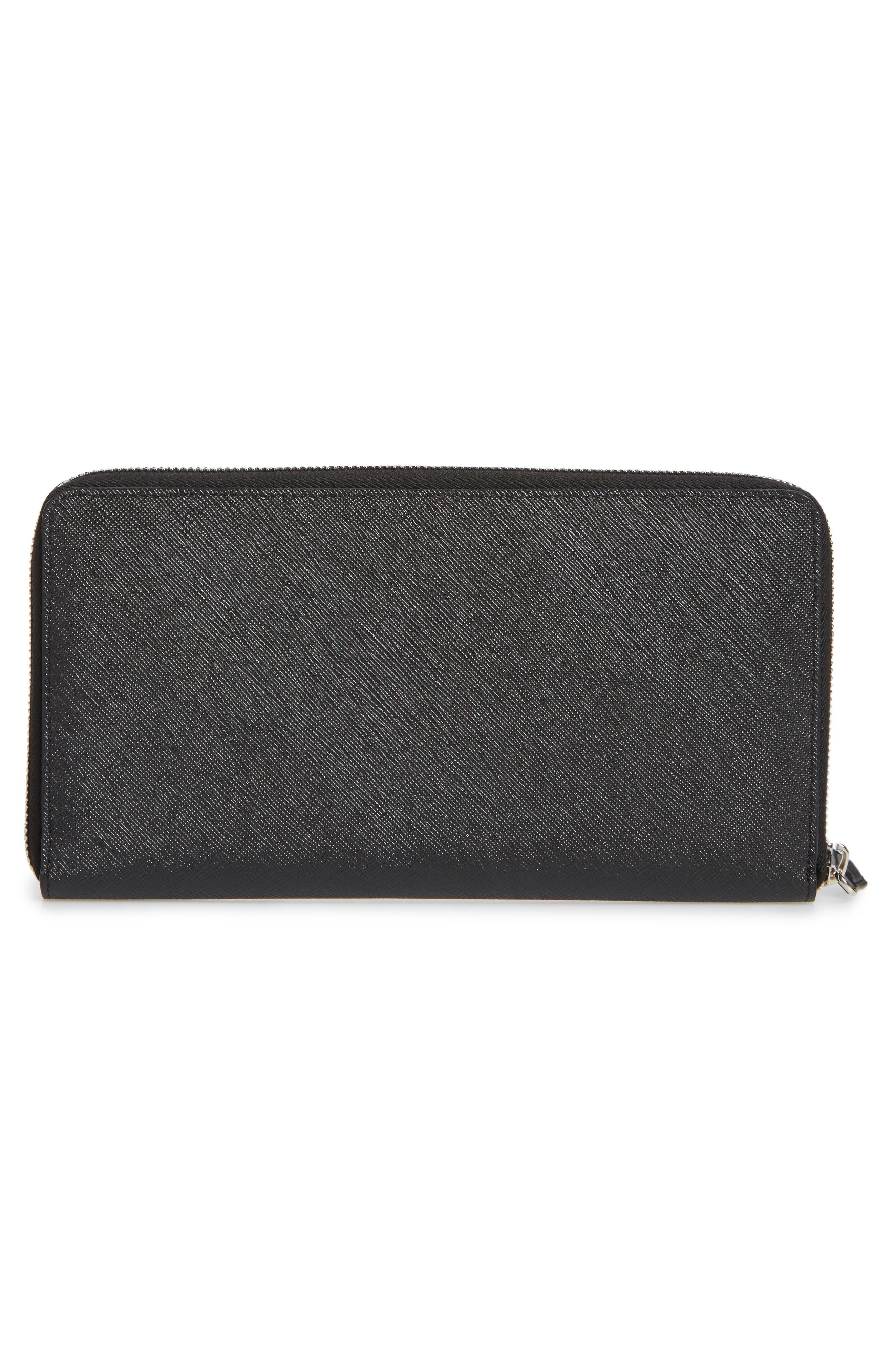 Alternate Image 3  - Givenchy Jaguar Zip-Around Wallet