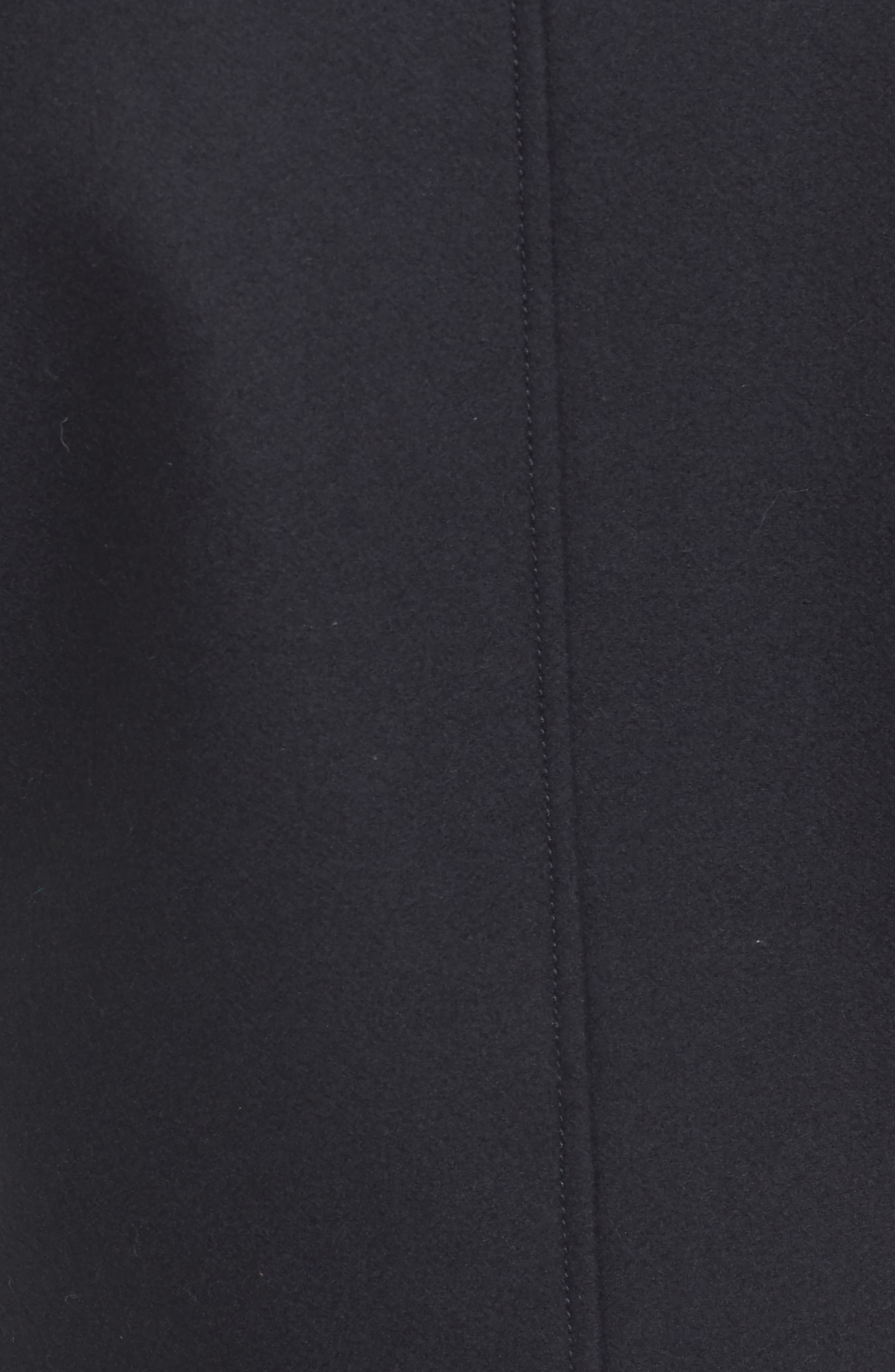 Wool Sculpted Jacket,                             Alternate thumbnail 5, color,                             Navy Night