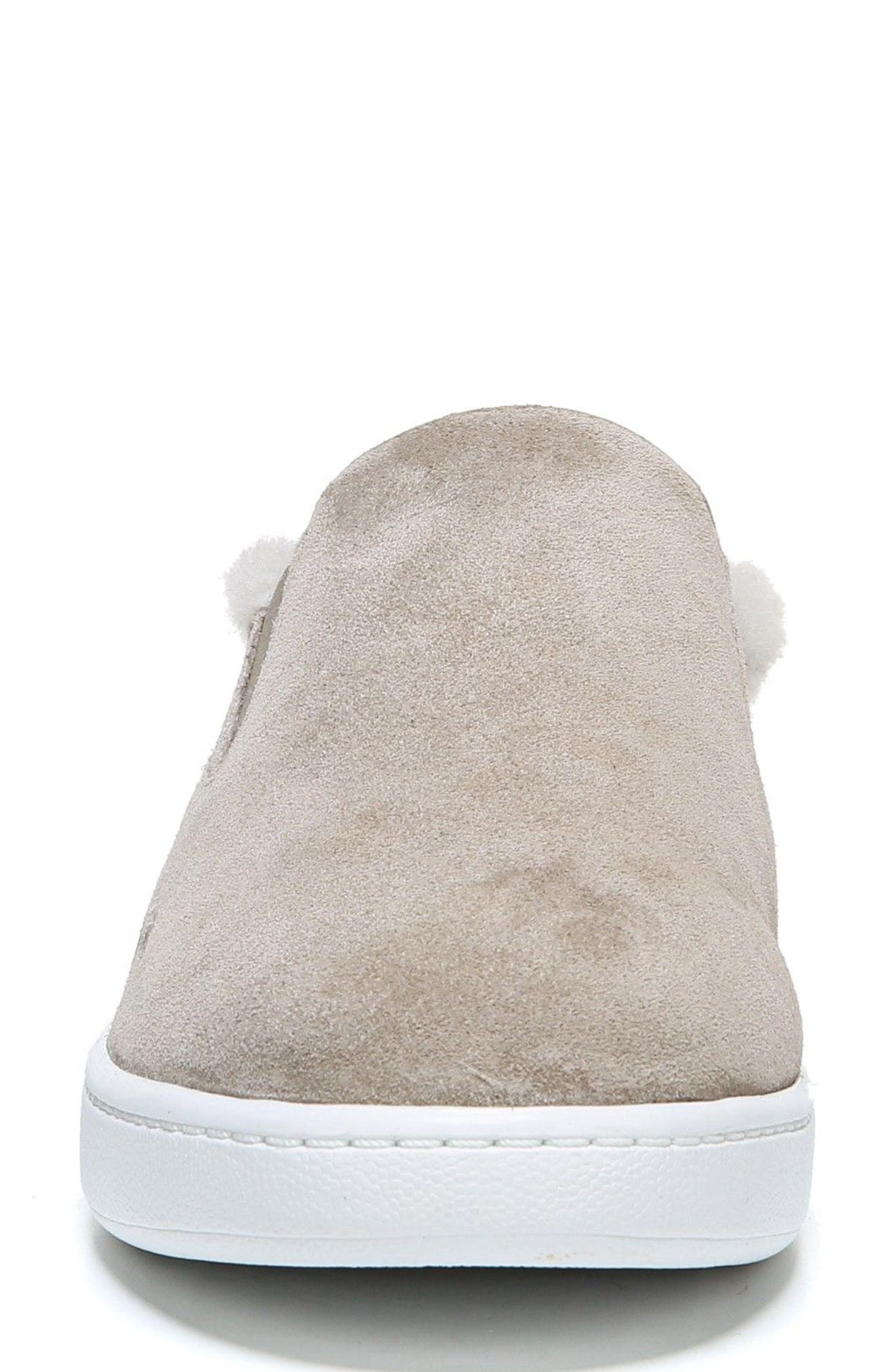 Alternate Image 4  - Vince Verrell Genuine Shearling Slip-On Sneaker (Women)