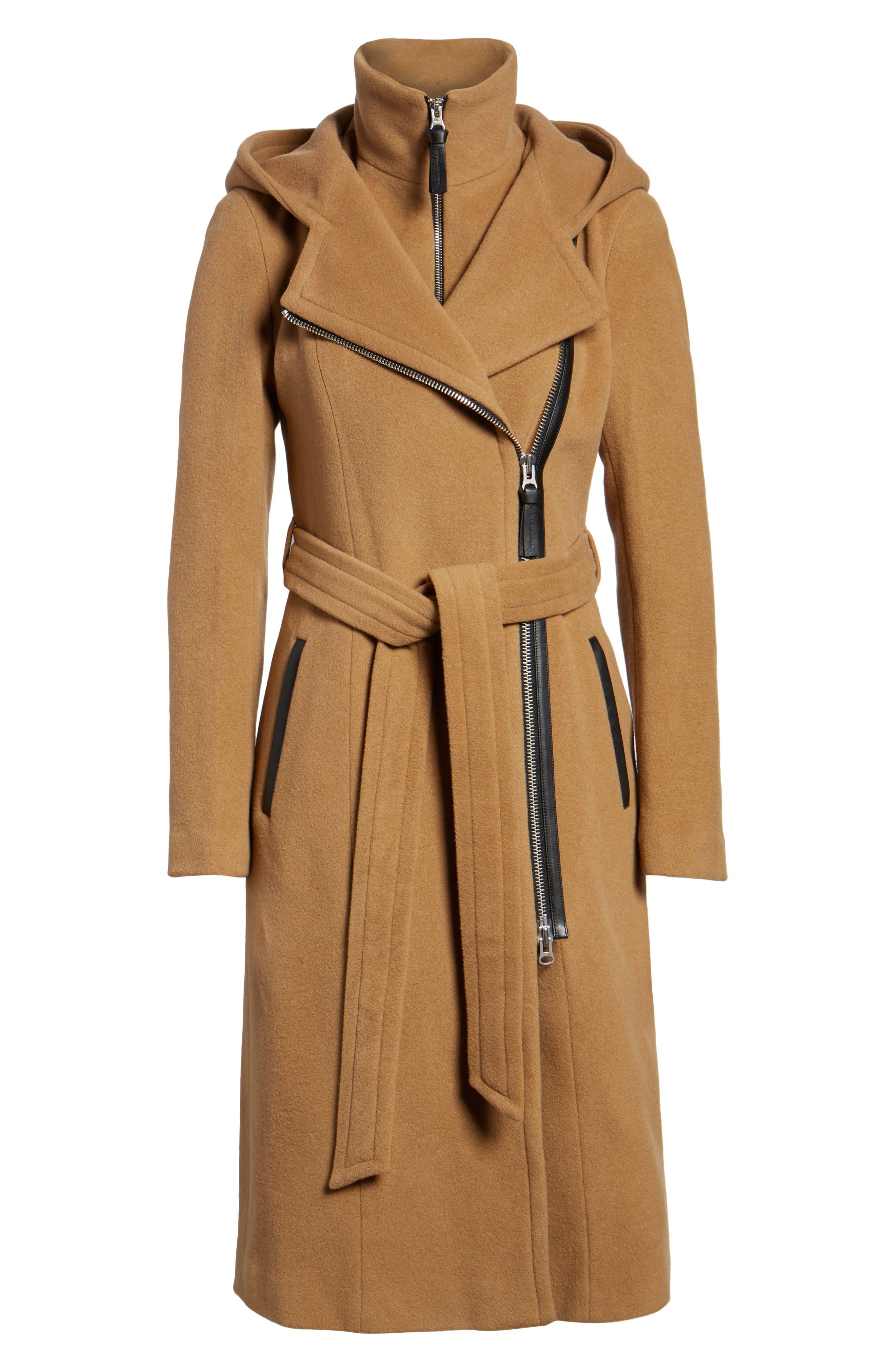 Alternate Image 6  - Mackage Janya Wool Blend Coat