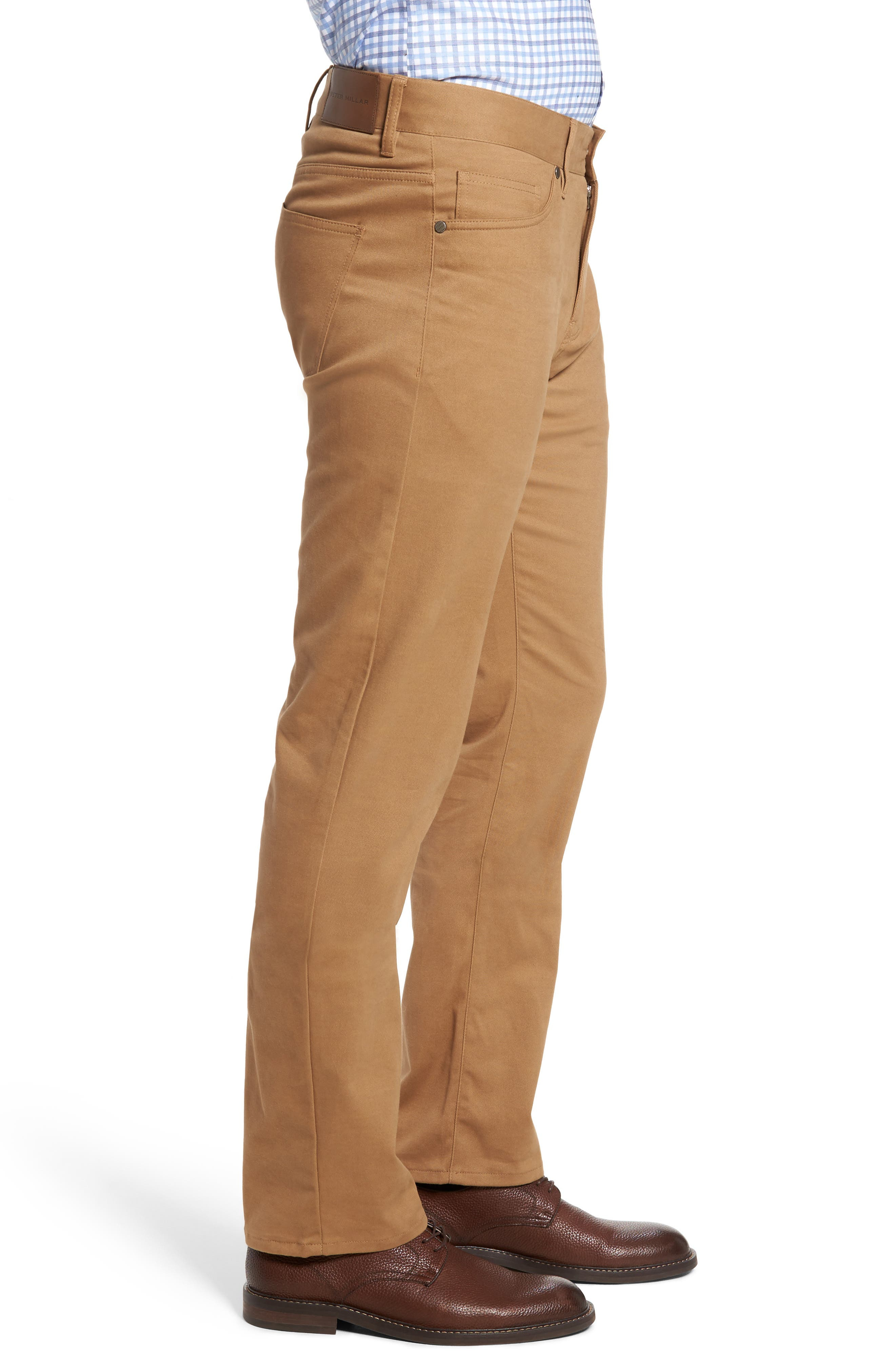 Alternate Image 3  - Peter Millar Perfect Twill 5-Pocket Pants