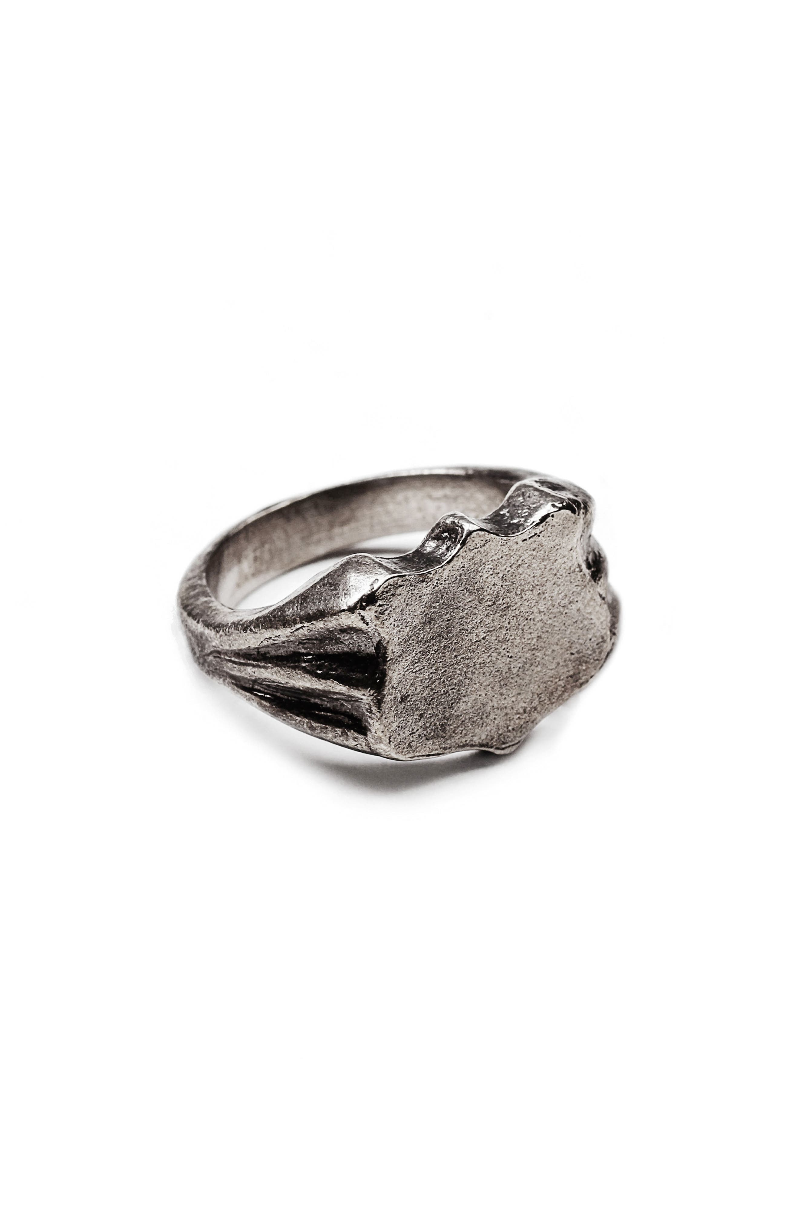 George Frost Bullet Shield Ring