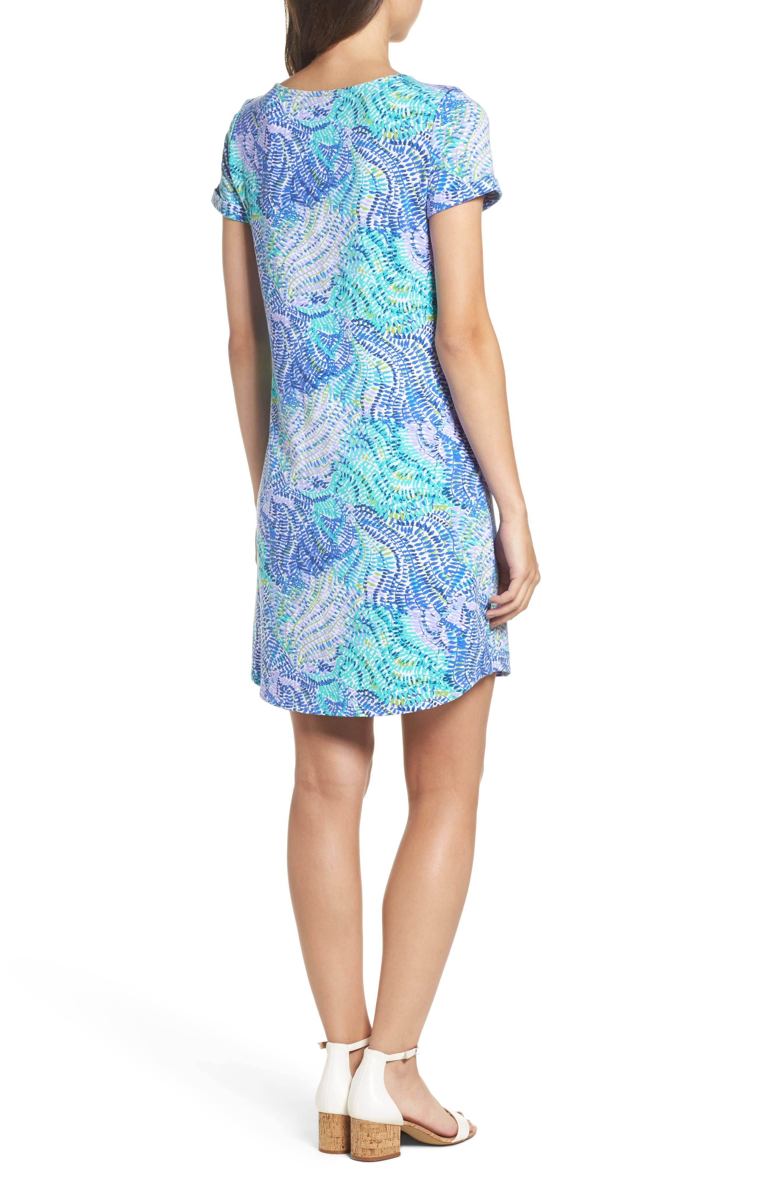 Tammy UPF 50 Dress,                             Alternate thumbnail 2, color,                             Blue Current