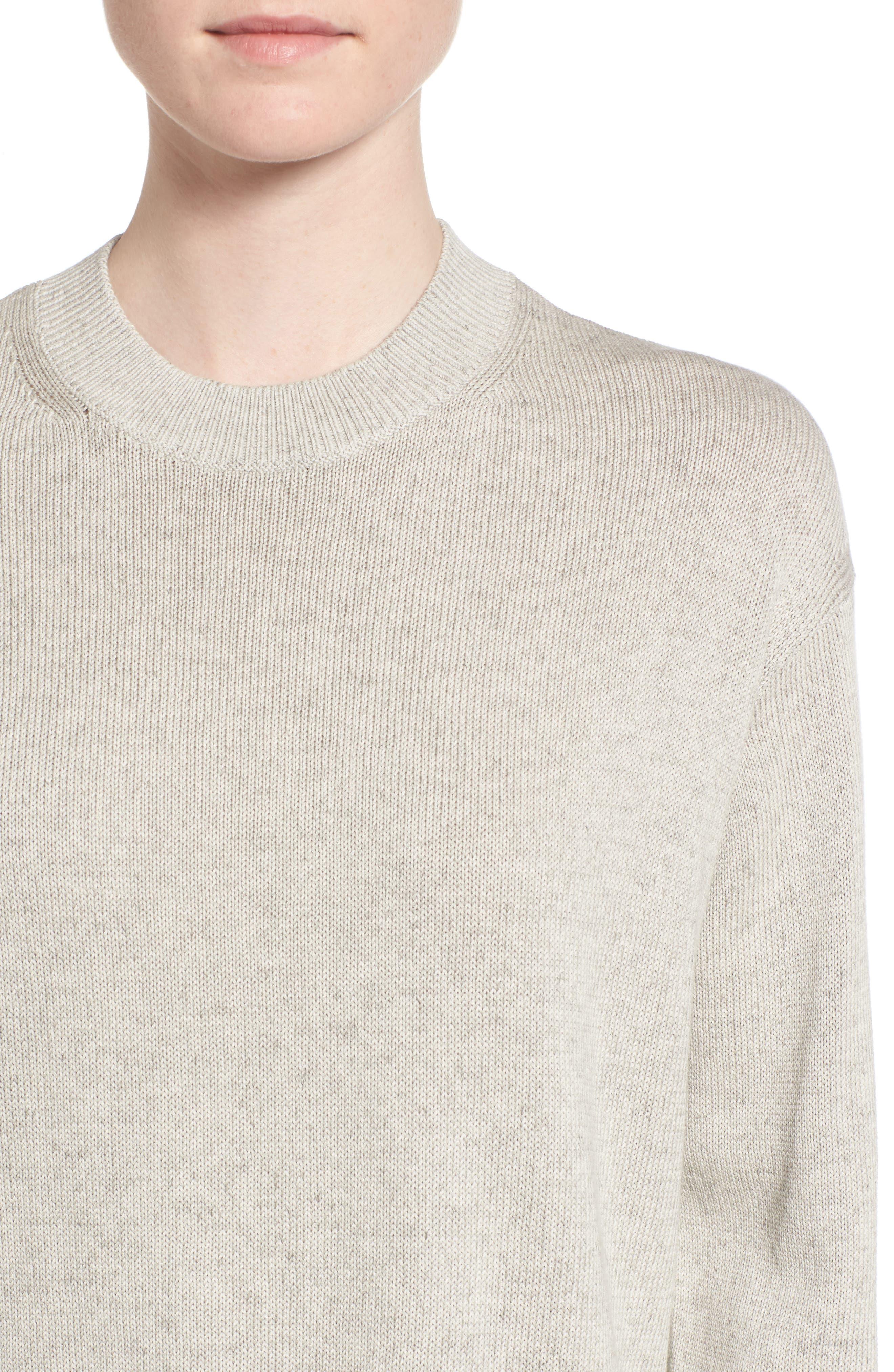 Alternate Image 4  - Everlane The Cotton Long Sleeve Crew Sweater