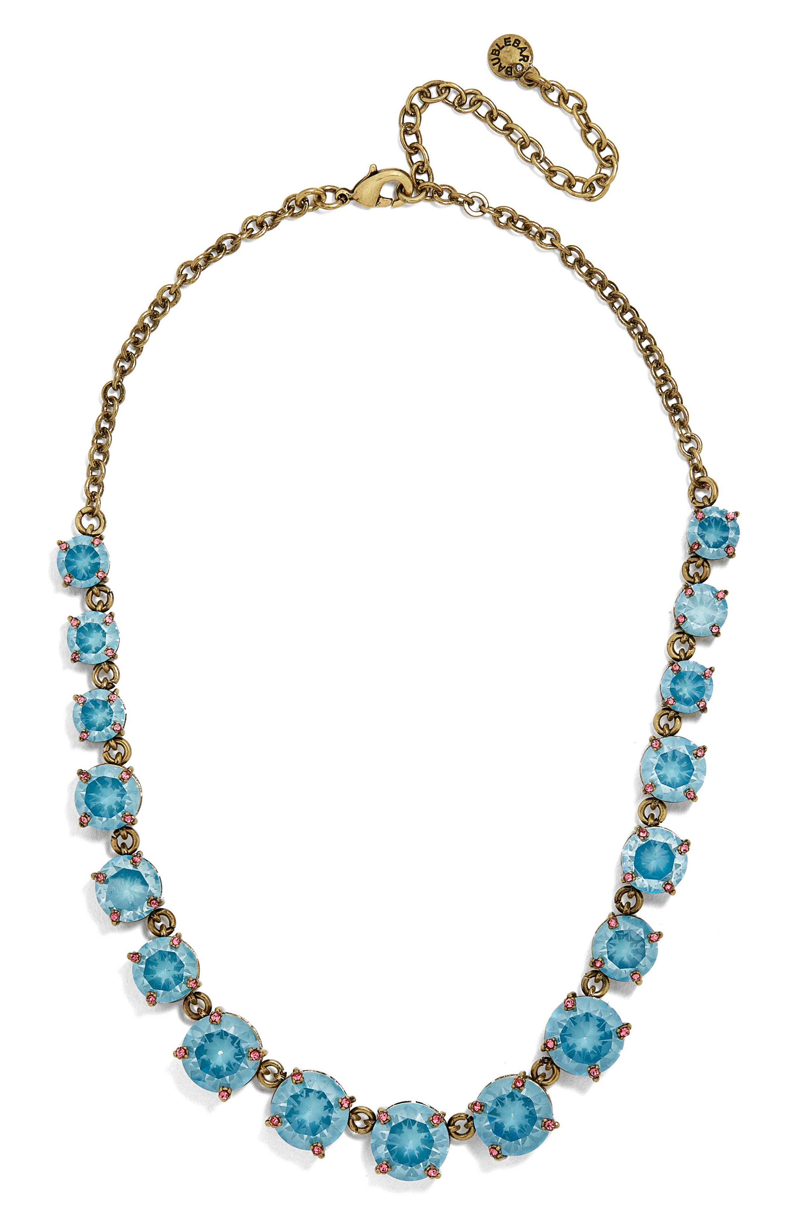 BaubleBar Crystal Collar Necklace