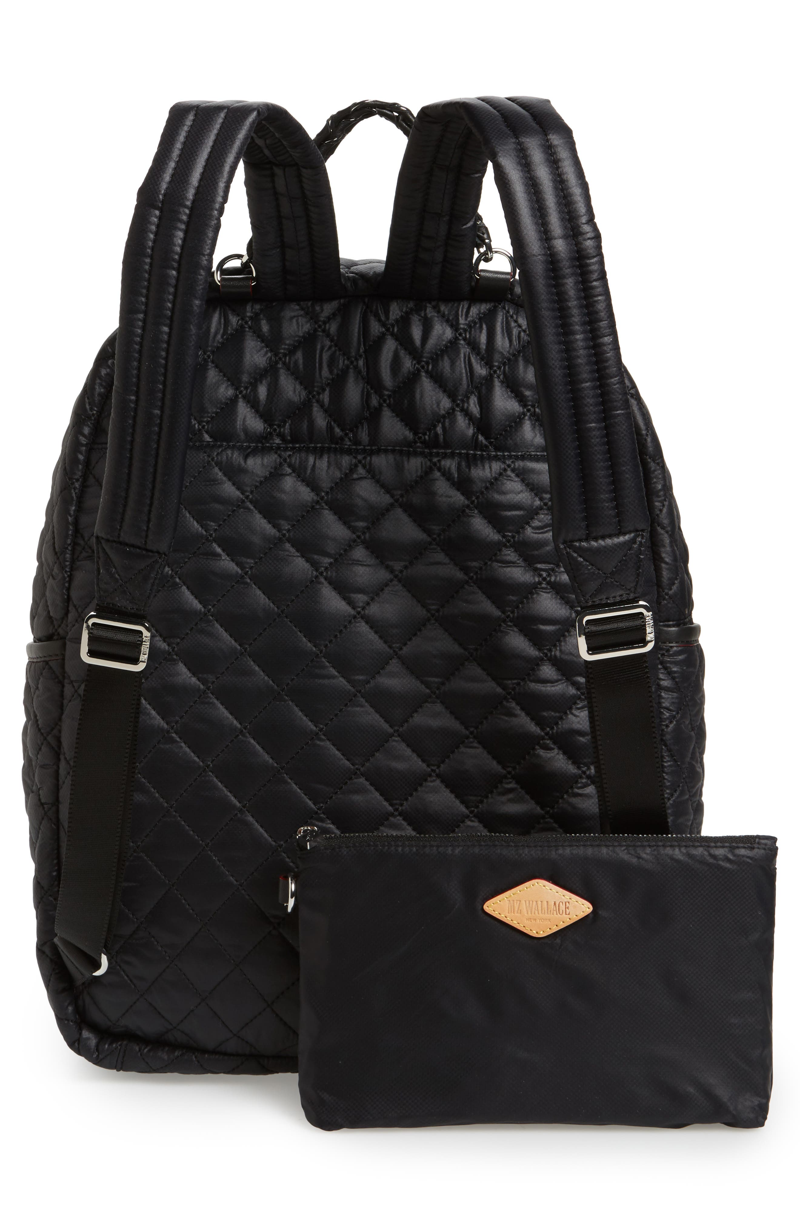 Alternate Image 3  - MZ Wallace Crosby Quilted Oxford Nylon Backpack
