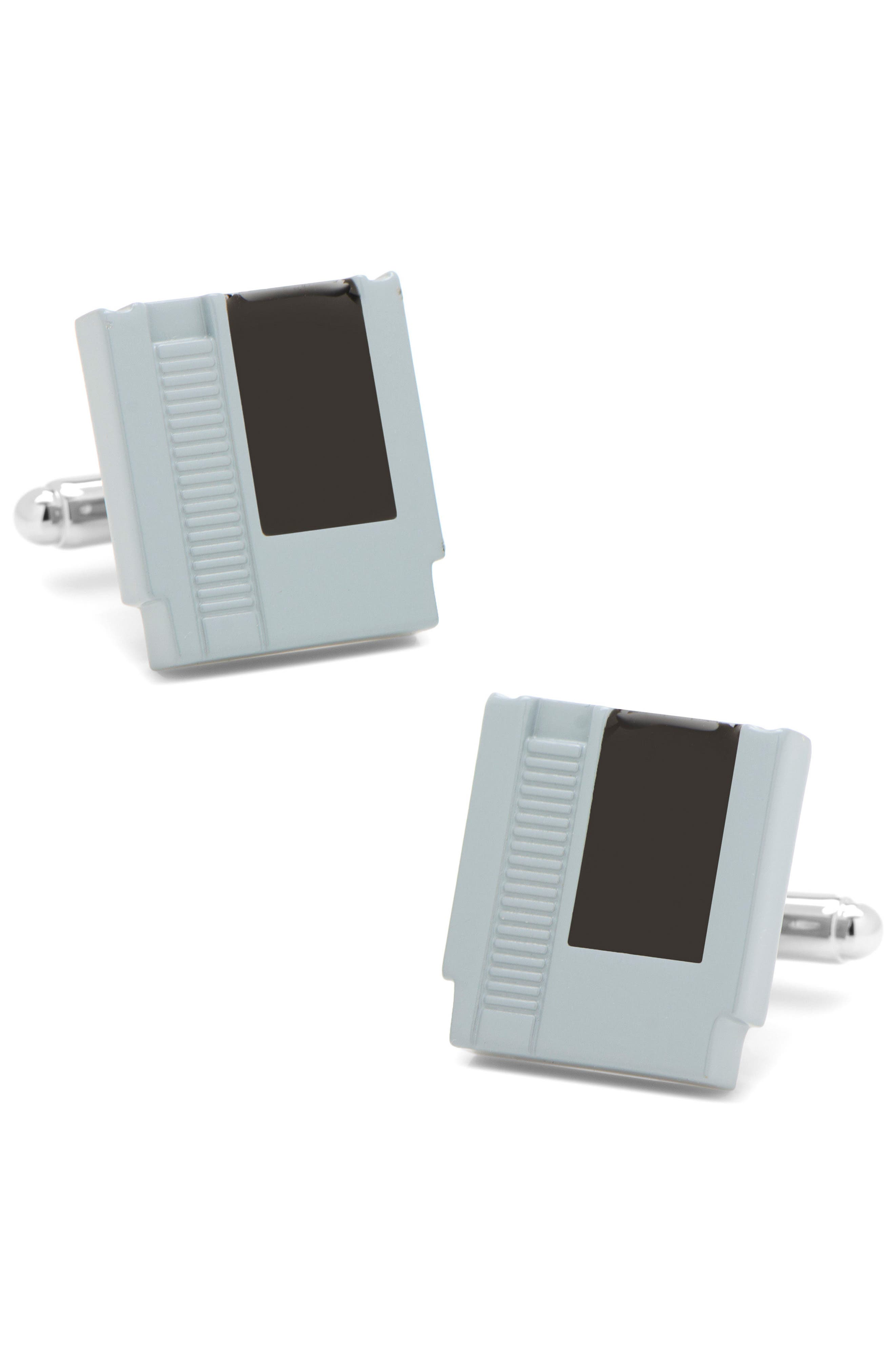 Cufflinks Inc. Retro Game Cartridge Cuff Links,                         Main,                         color, Grey