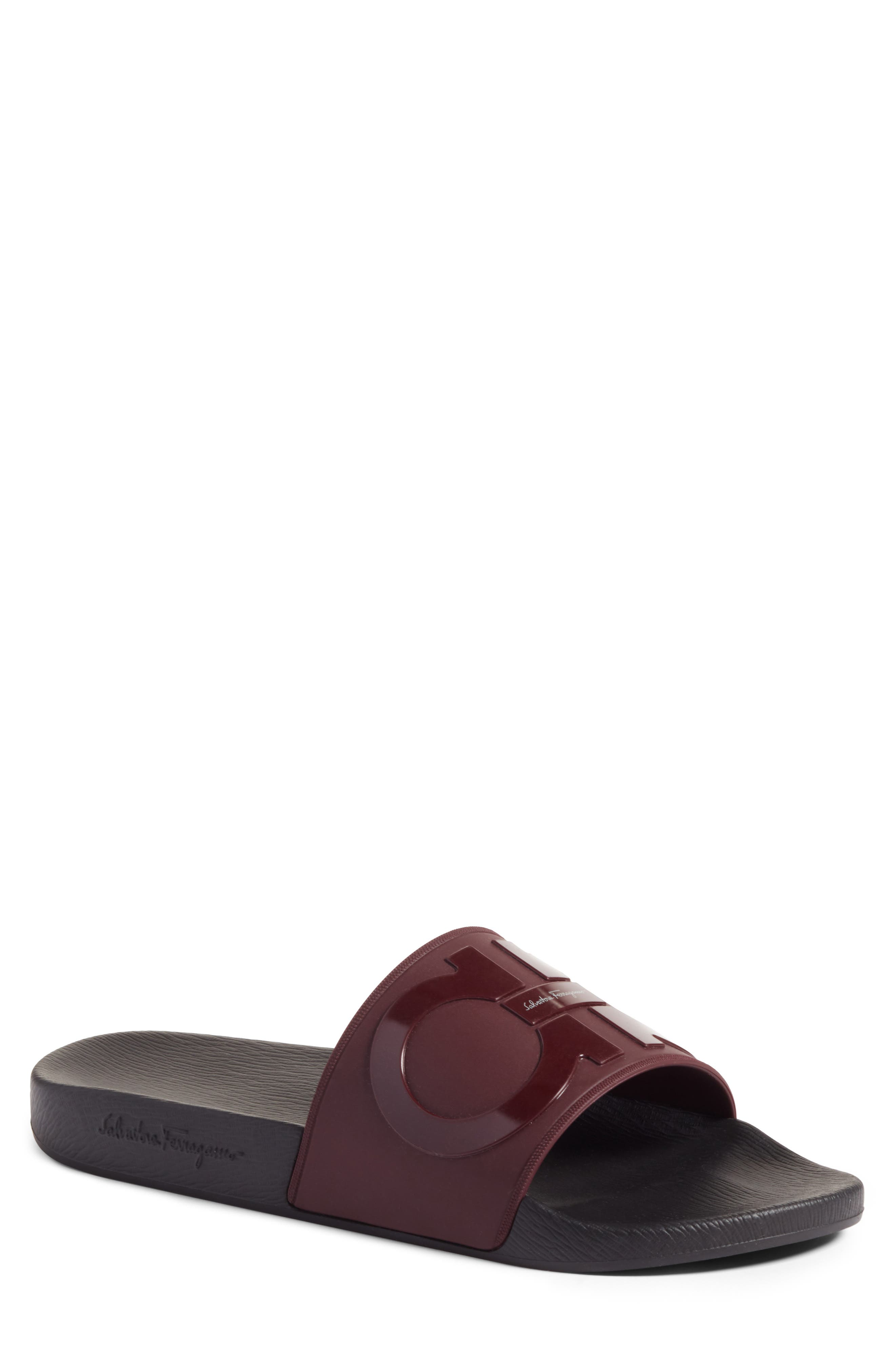 Salvatore Ferragamo Groove 2 Slide Sandal (Men)