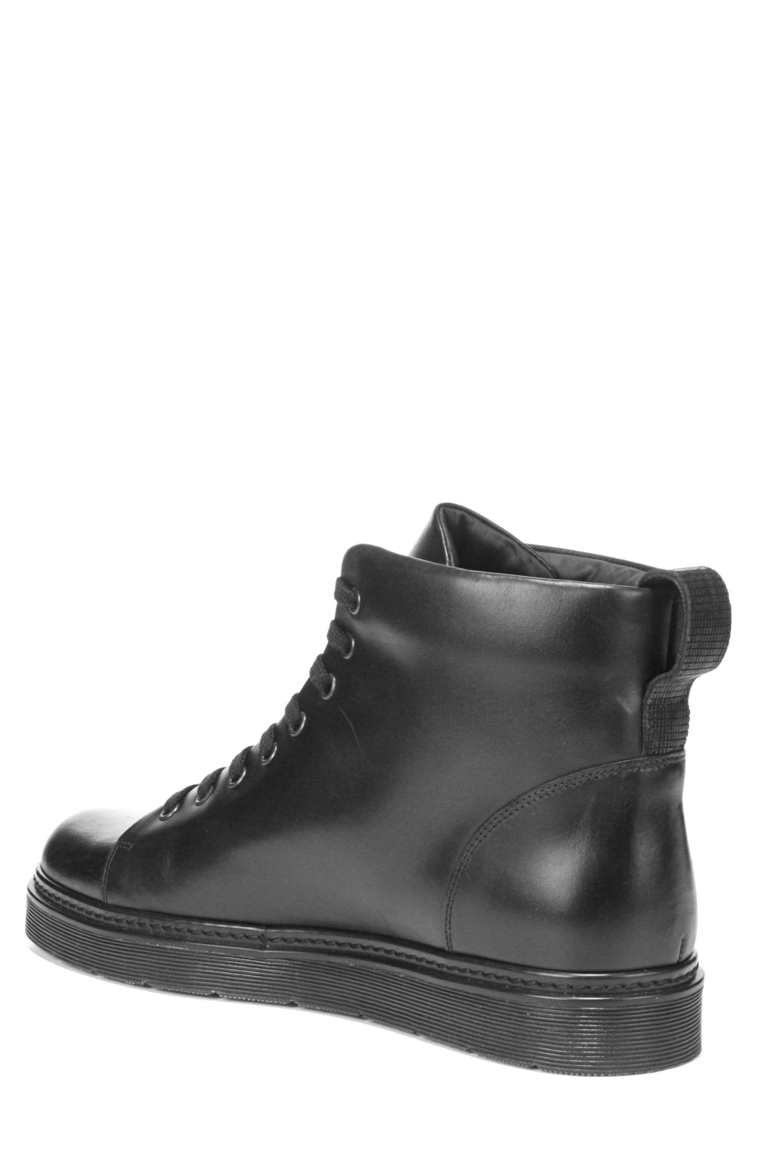 Malone Plain Toe Boot,                             Alternate thumbnail 2, color,                             Black