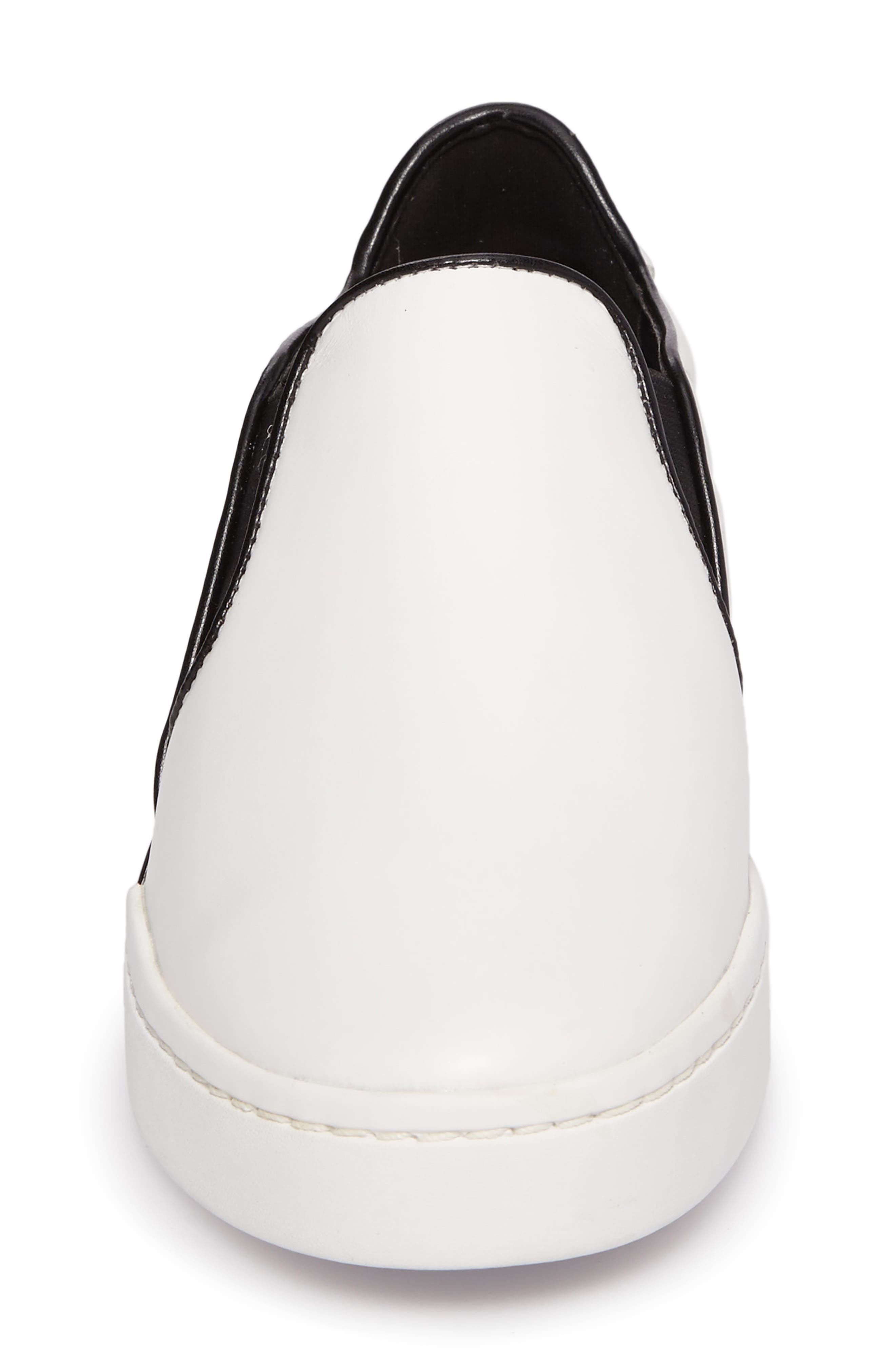 Brenden Slip-On,                             Alternate thumbnail 4, color,                             Optic White