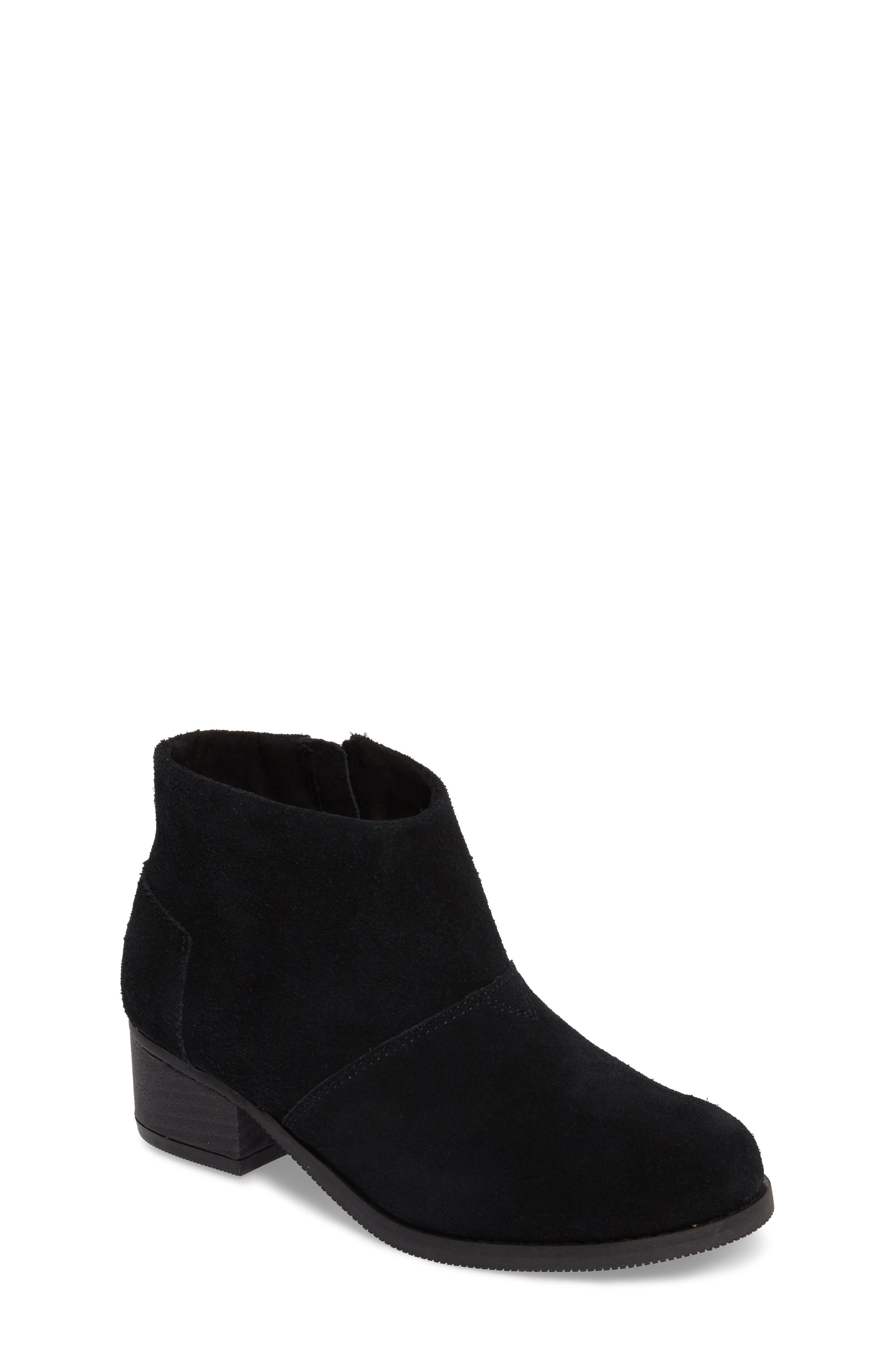 TOMS Leila Low Bootie (Toddler, Little Kid & Big Kid)