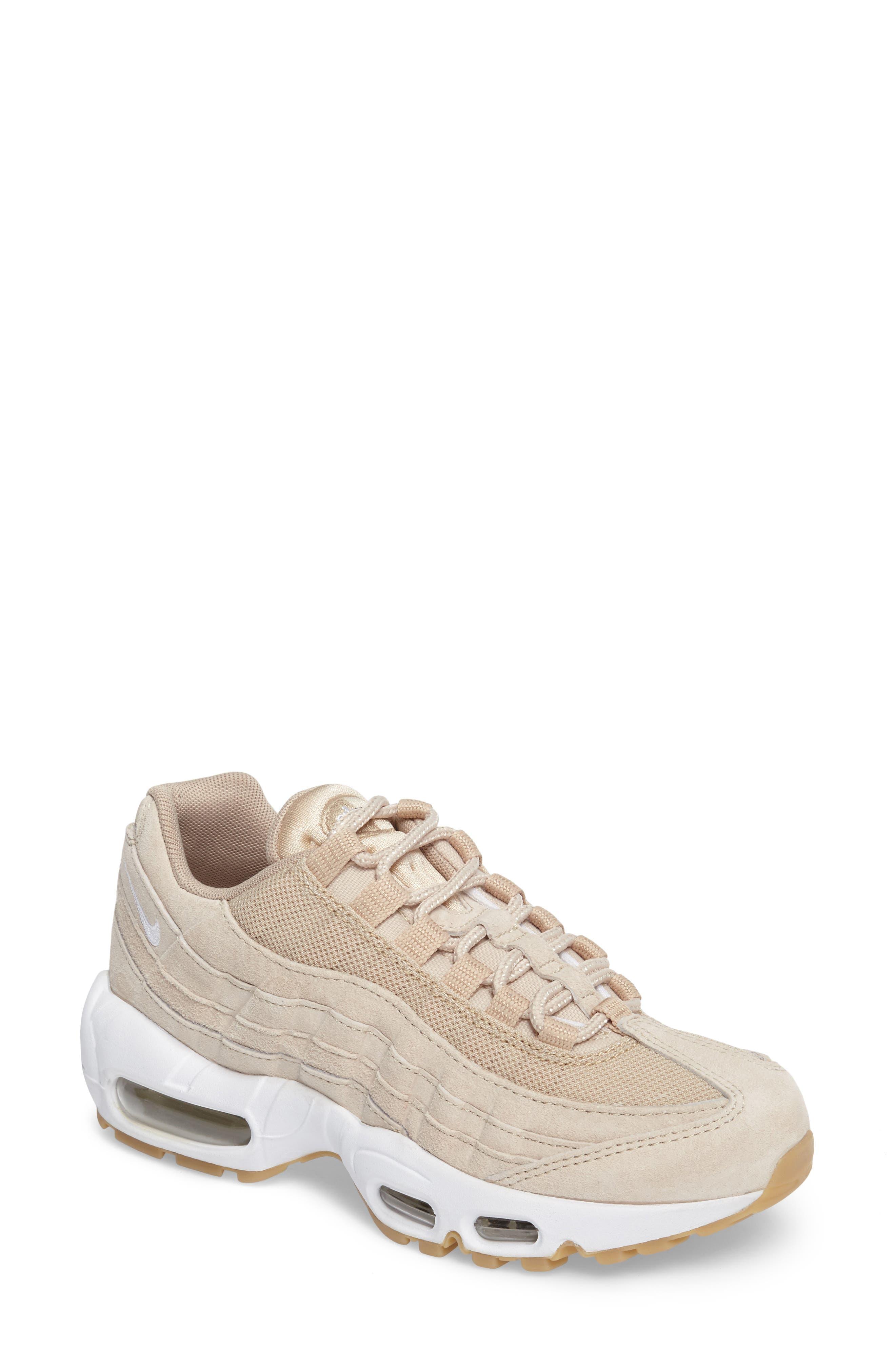 Air Max 95 SD Sneaker,                             Main thumbnail 1, color,                             Oatmeal/ White