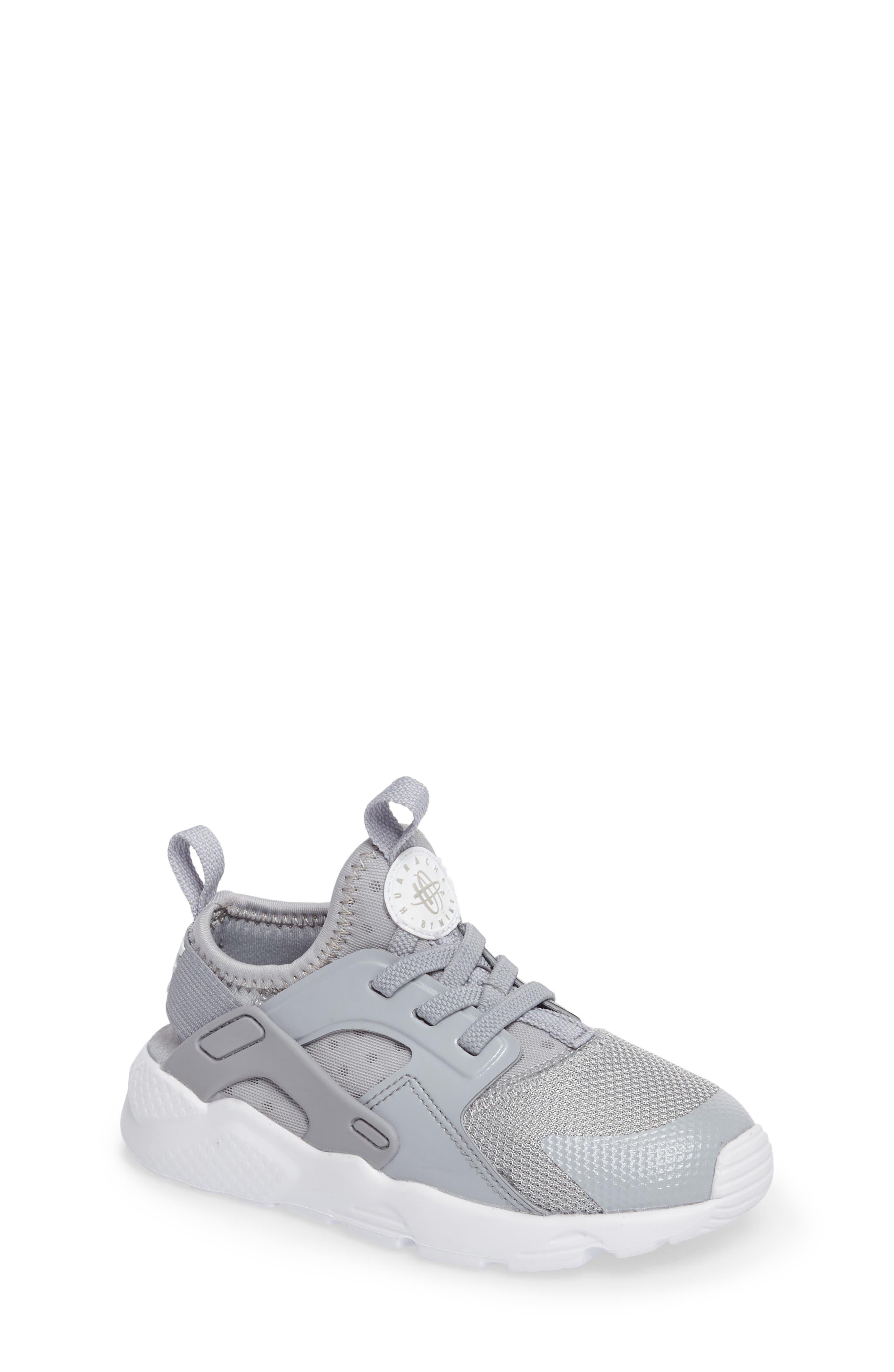 Nike Huarache Run Ultra Sneaker (Baby, Walker & Toddler)