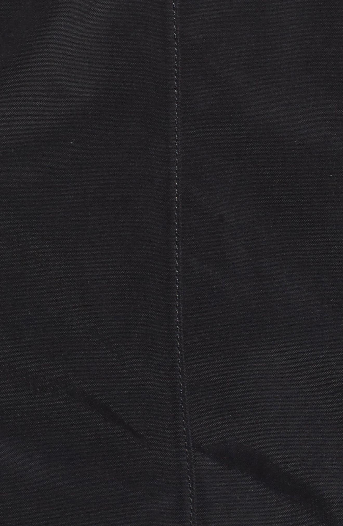 Laney II Trench Raincoat,                             Alternate thumbnail 6, color,                             Tnf Black