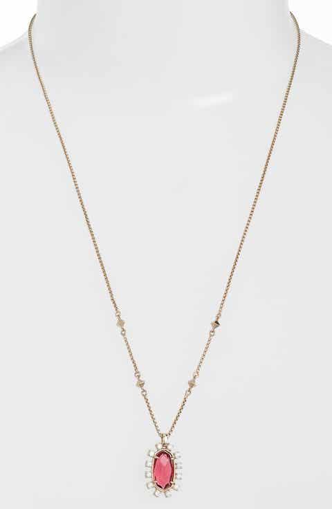 Womens long strand necklaces nordstrom kendra scott convertible pendant necklace aloadofball Images