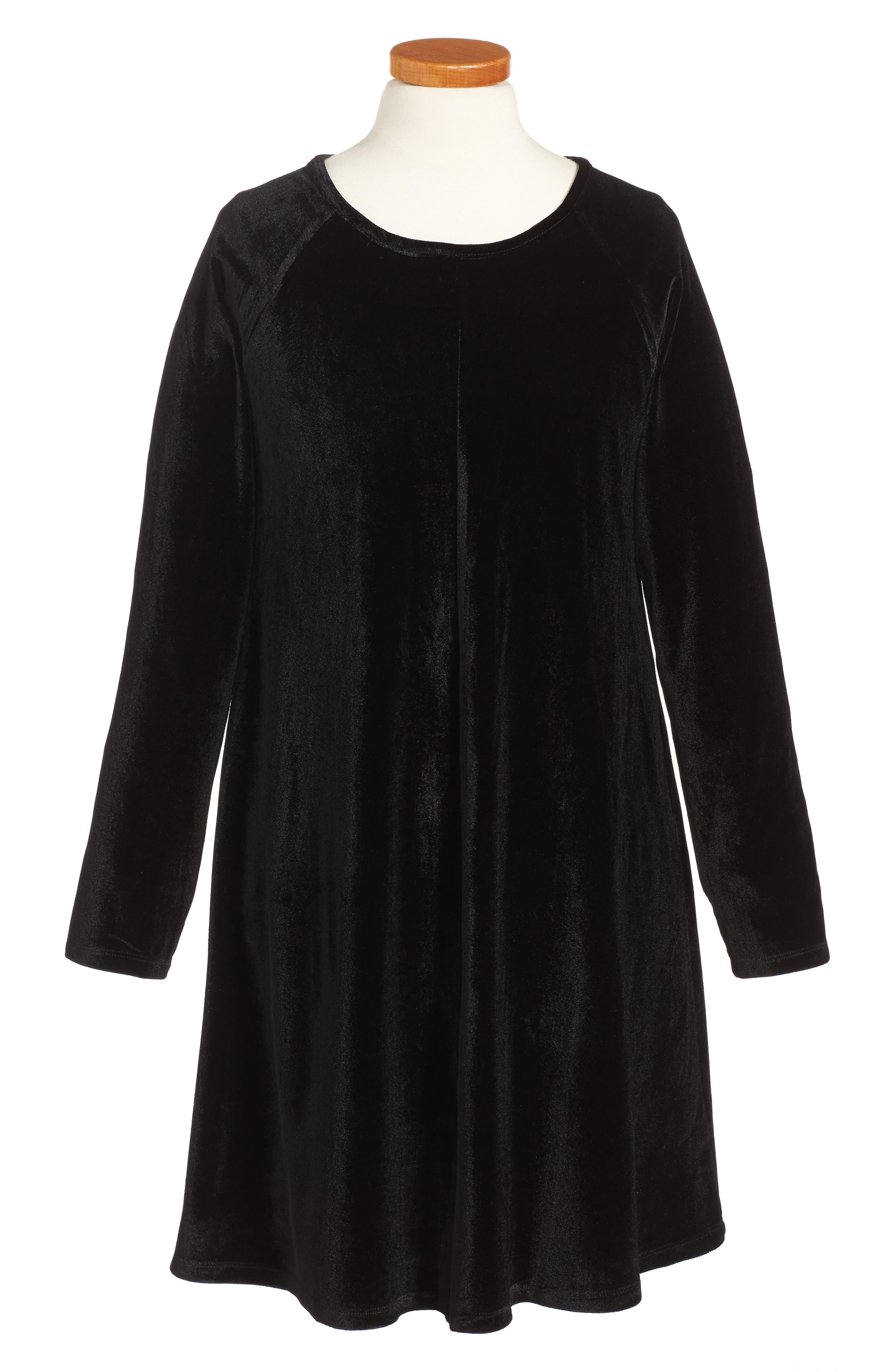 Alternate Image 1 Selected - Miss Behave Barbara Dress (Big Girls)
