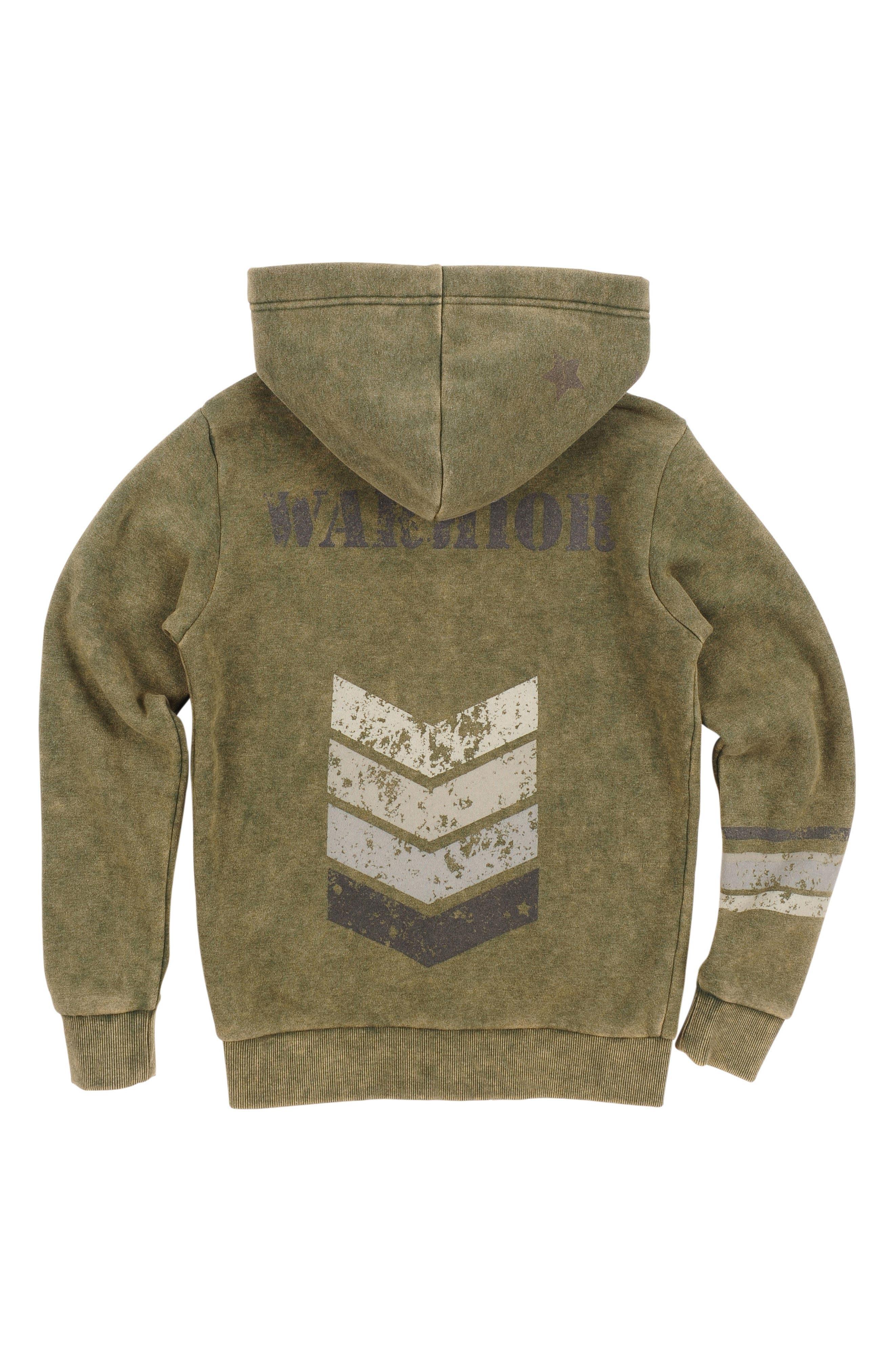 Warrior Zip Hoodie,                             Alternate thumbnail 2, color,                             Duffel Bag