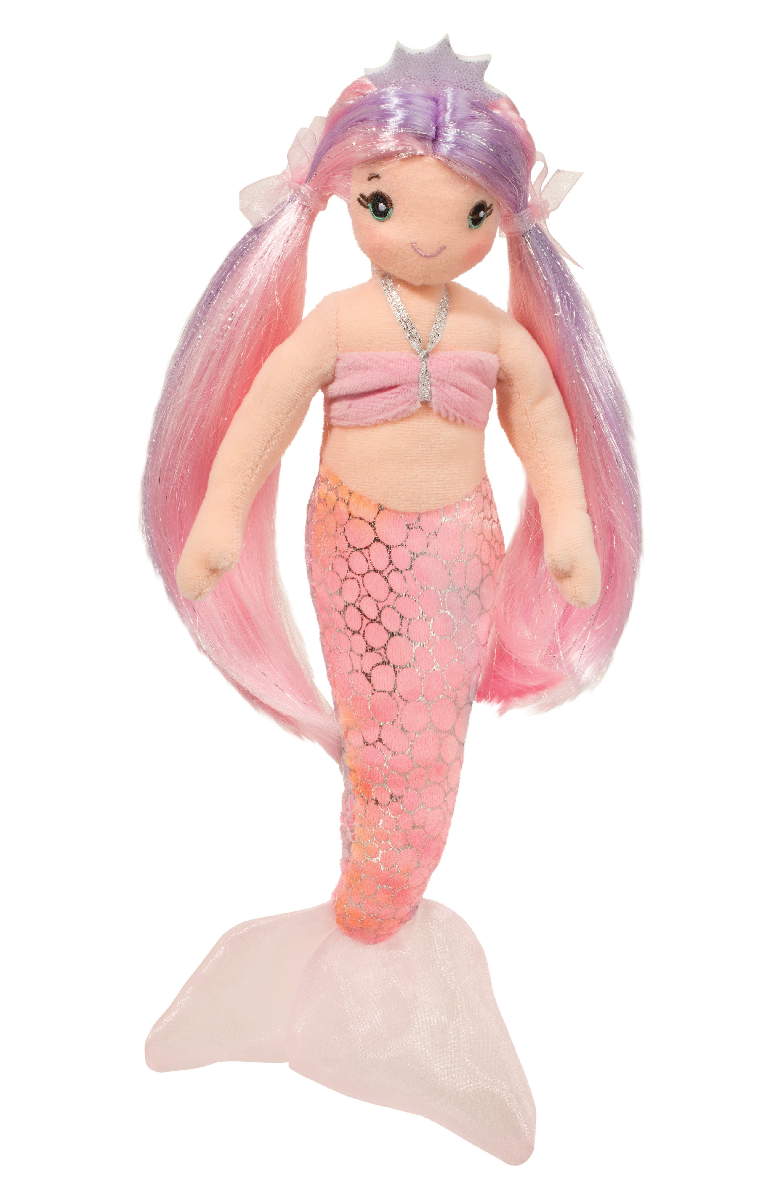 Alternate Image 1 Selected - Douglas Serena Pink Mermaid Doll
