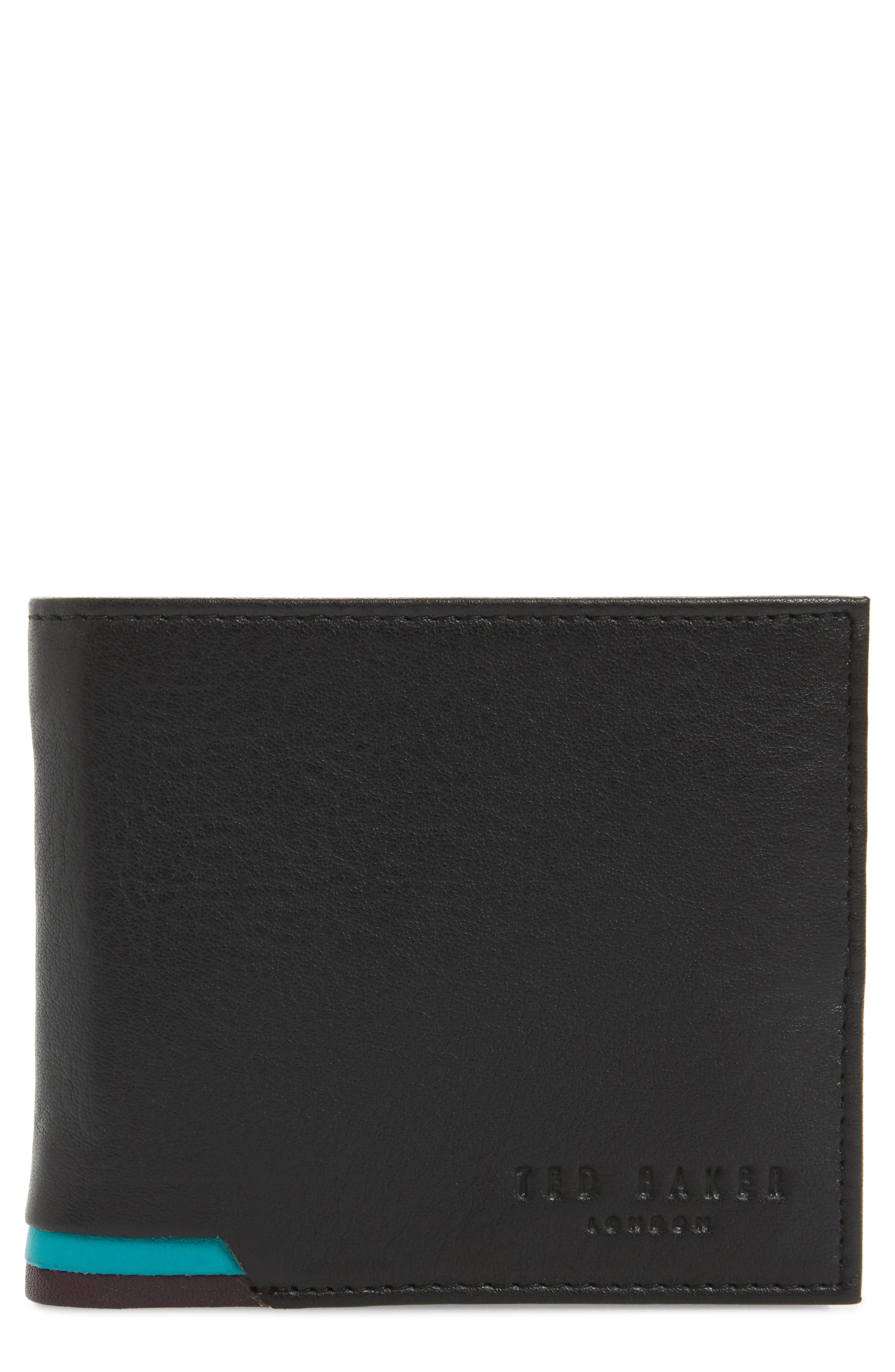 Ted Baker London Corcoin Leather Wallet