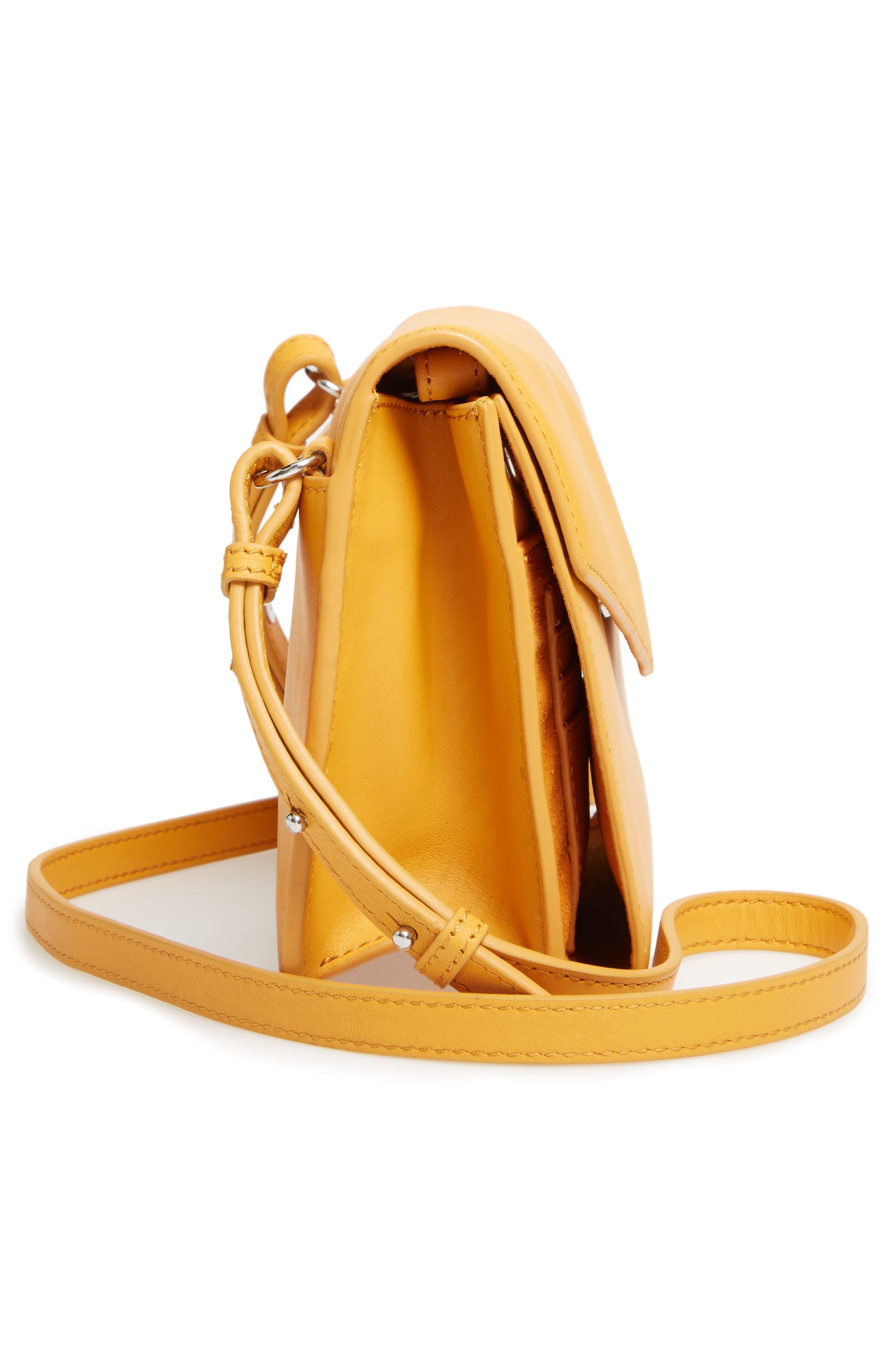 Alternate Image 5  - Steven Alan Easton Leather Envelope Crossbody Bag