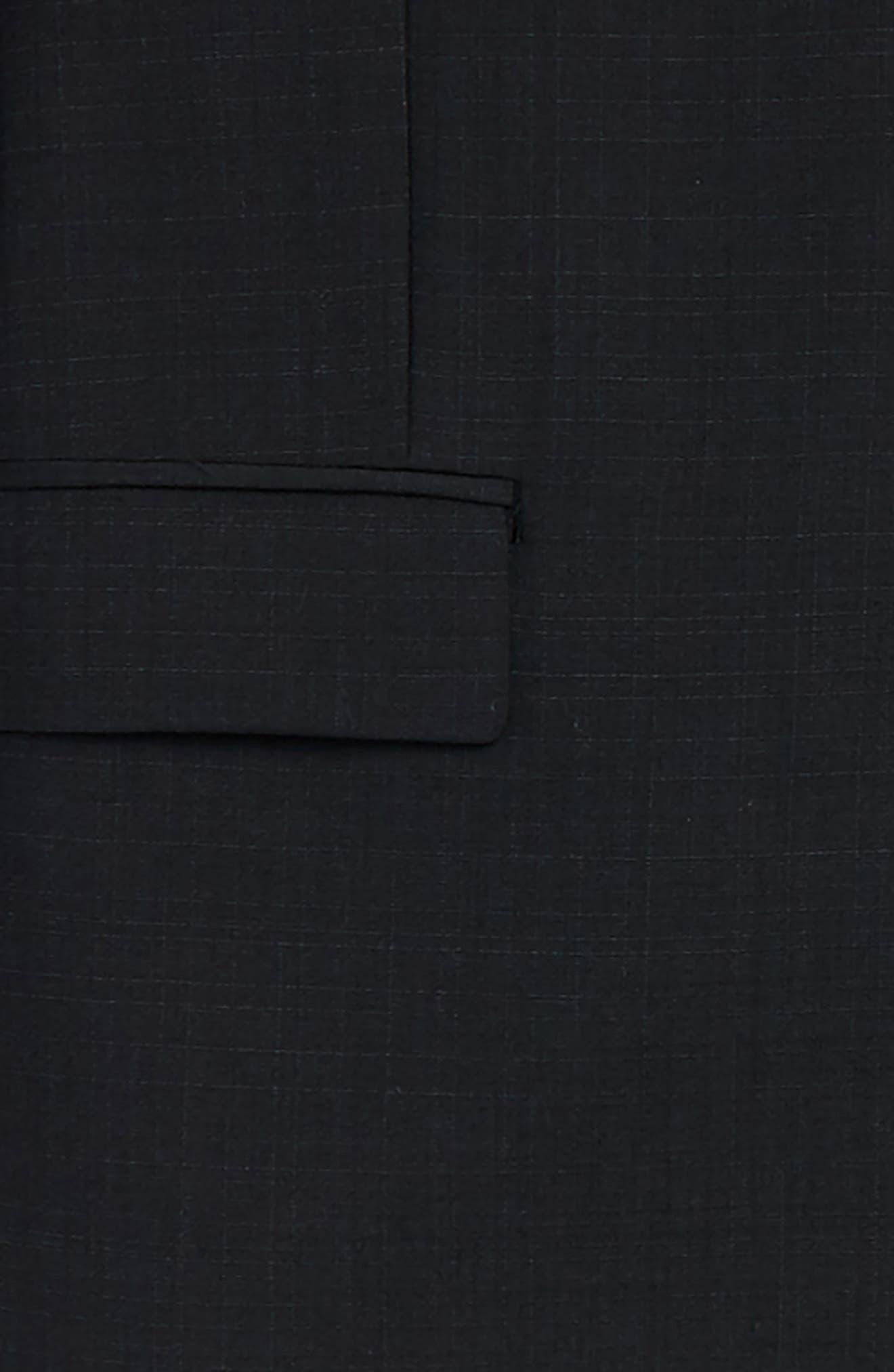 Alternate Image 2  - DKNY Wool Suit (Big Boys)